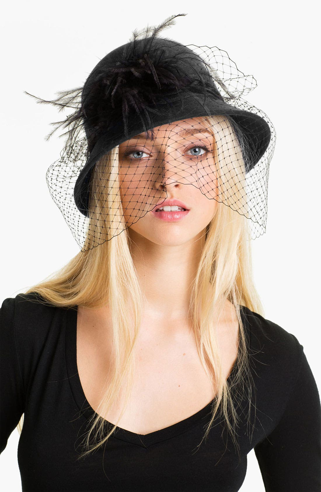 Alternate Image 1 Selected - August Hat 'Angelica' Cloche