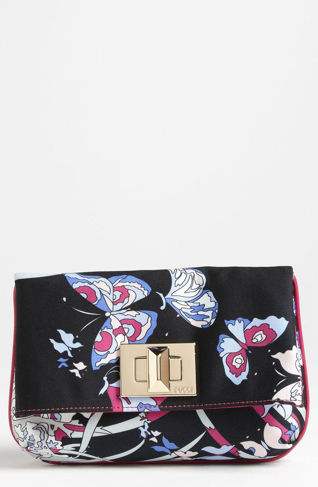 Alternate Image 1 Selected - Emilio Pucci 'Butterfly' Fold Over Clutch