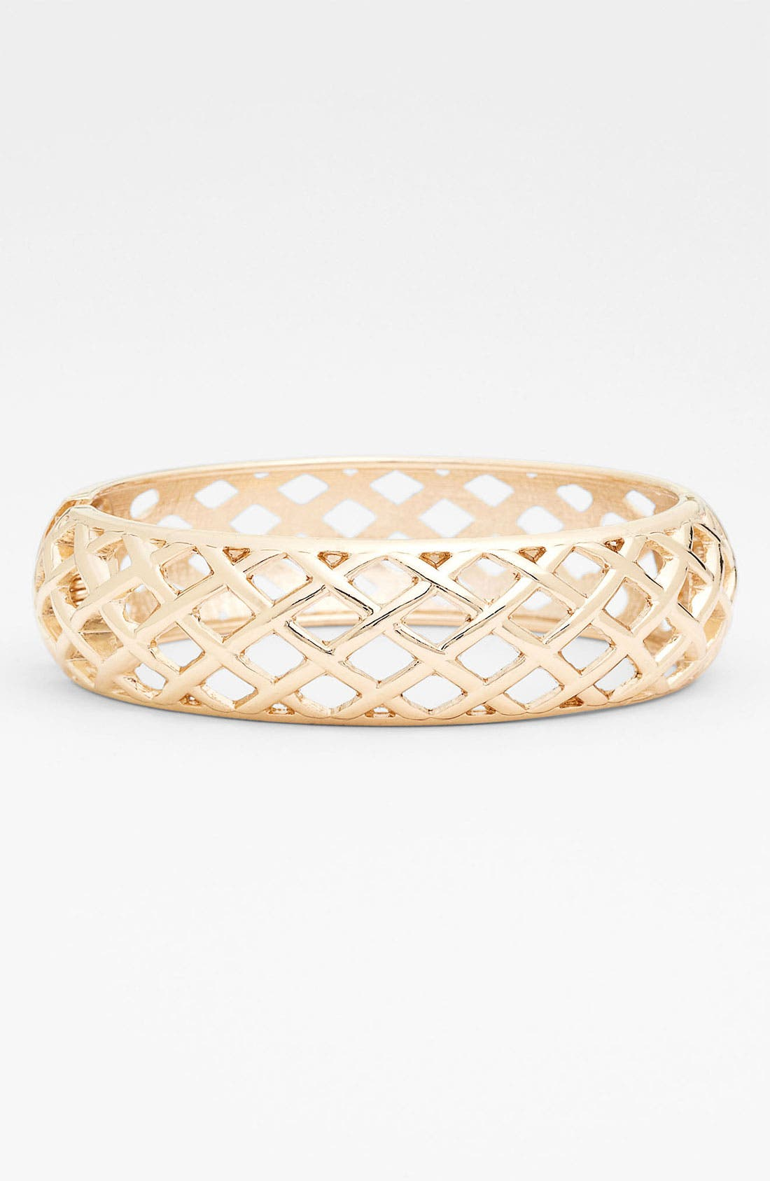 Alternate Image 1 Selected - Sequin Hinged Bangle