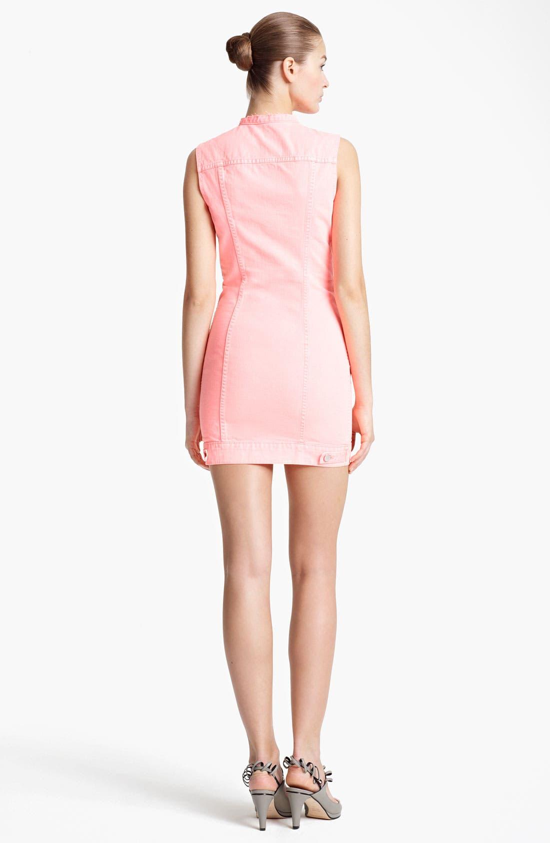 Alternate Image 2  - J Brand + Christopher Kane Denim Dress