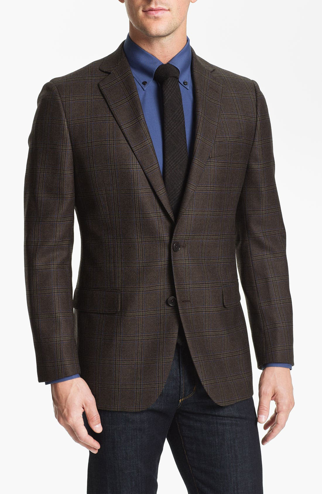 Main Image - Brooks Brothers Plaid Sportcoat