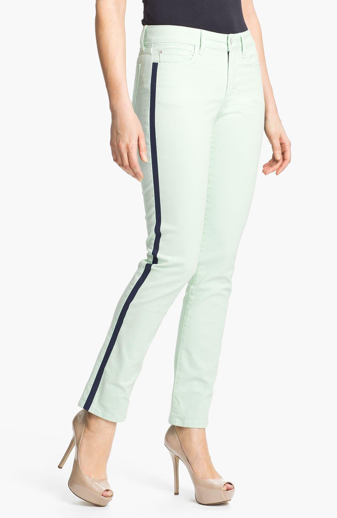 Alternate Image 1 Selected - NYDJ 'Sheri - Tuxedo' Skinny Stretch Jeans