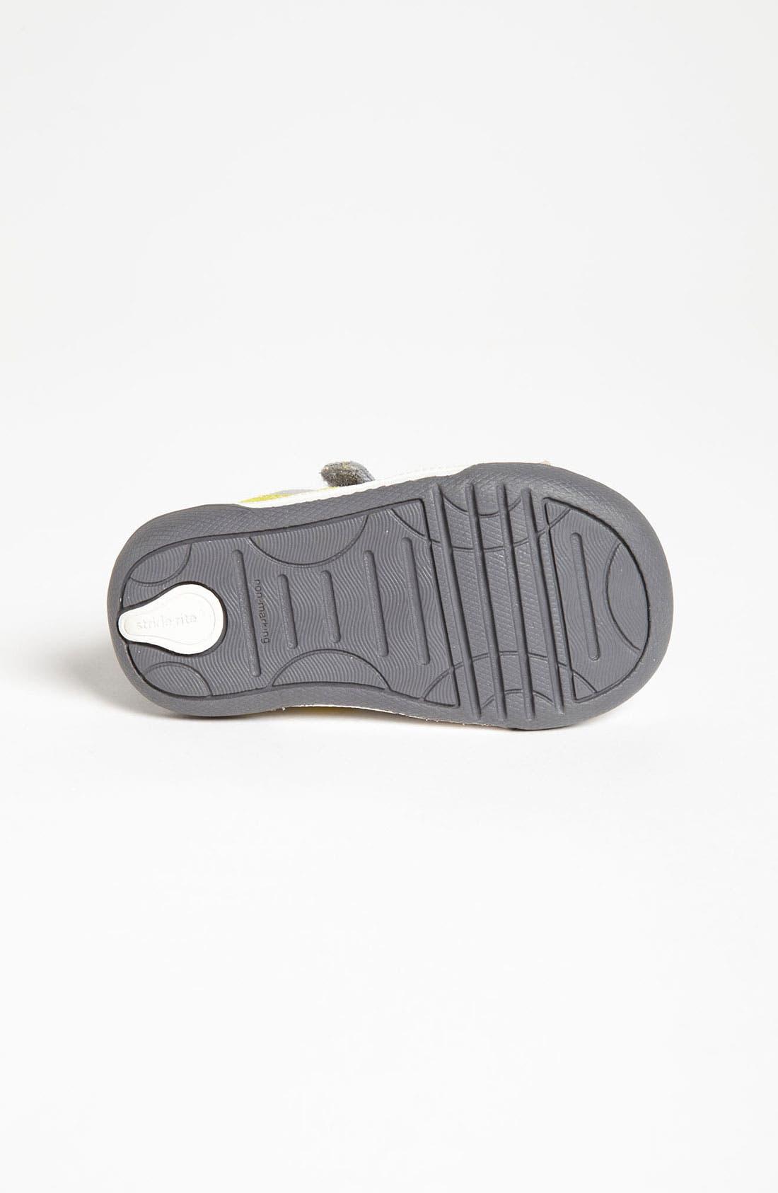 Alternate Image 4  - Stride Rite 'Jamison' Sneaker (Baby, Walker & Toddler)