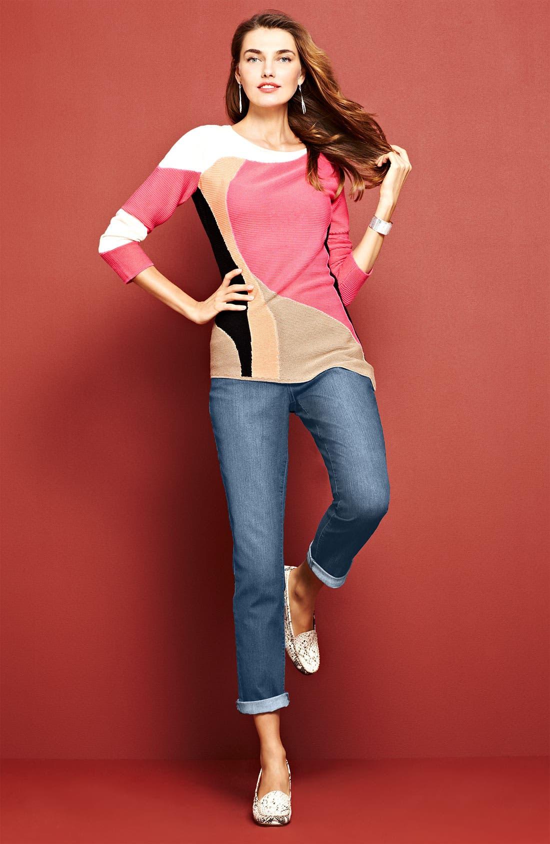 Main Image - Nic + Zoe  Sweater & NYDJ 'Tanya' Jeans