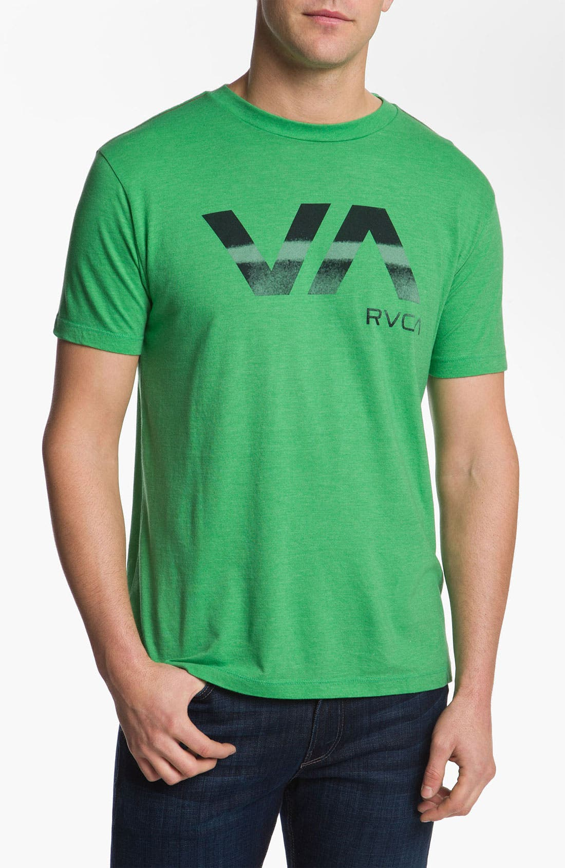 Alternate Image 1 Selected - RVCA 'Stressed VA' T-Shirt
