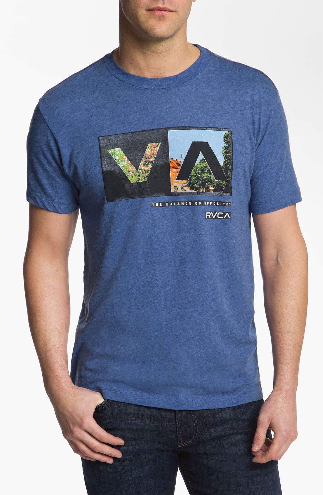 Alternate Image 1 Selected - RVCA 'Cut Copy' T-Shirt