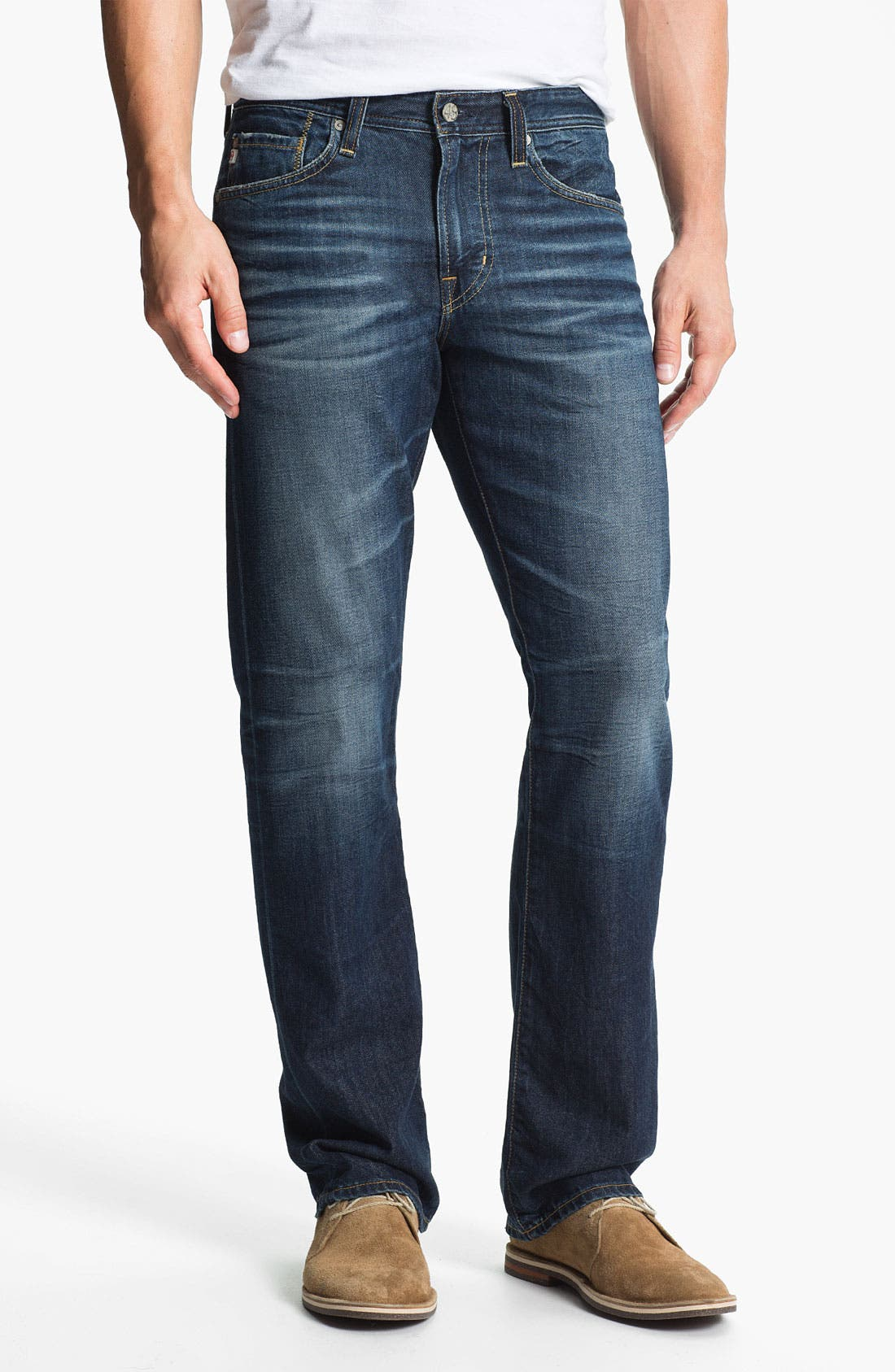 Alternate Image 1 Selected - AG Jeans 'Protégé' Straight Leg Jeans (8-Year Lounge)