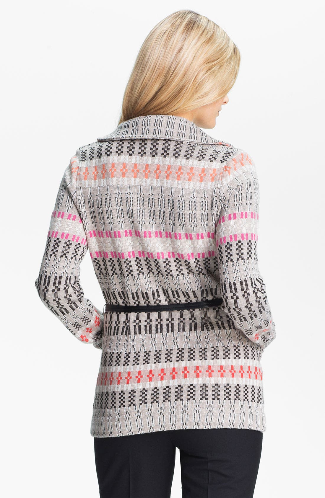 Alternate Image 2  - Nic + Zoe Belted Knit Jacket (Petite)
