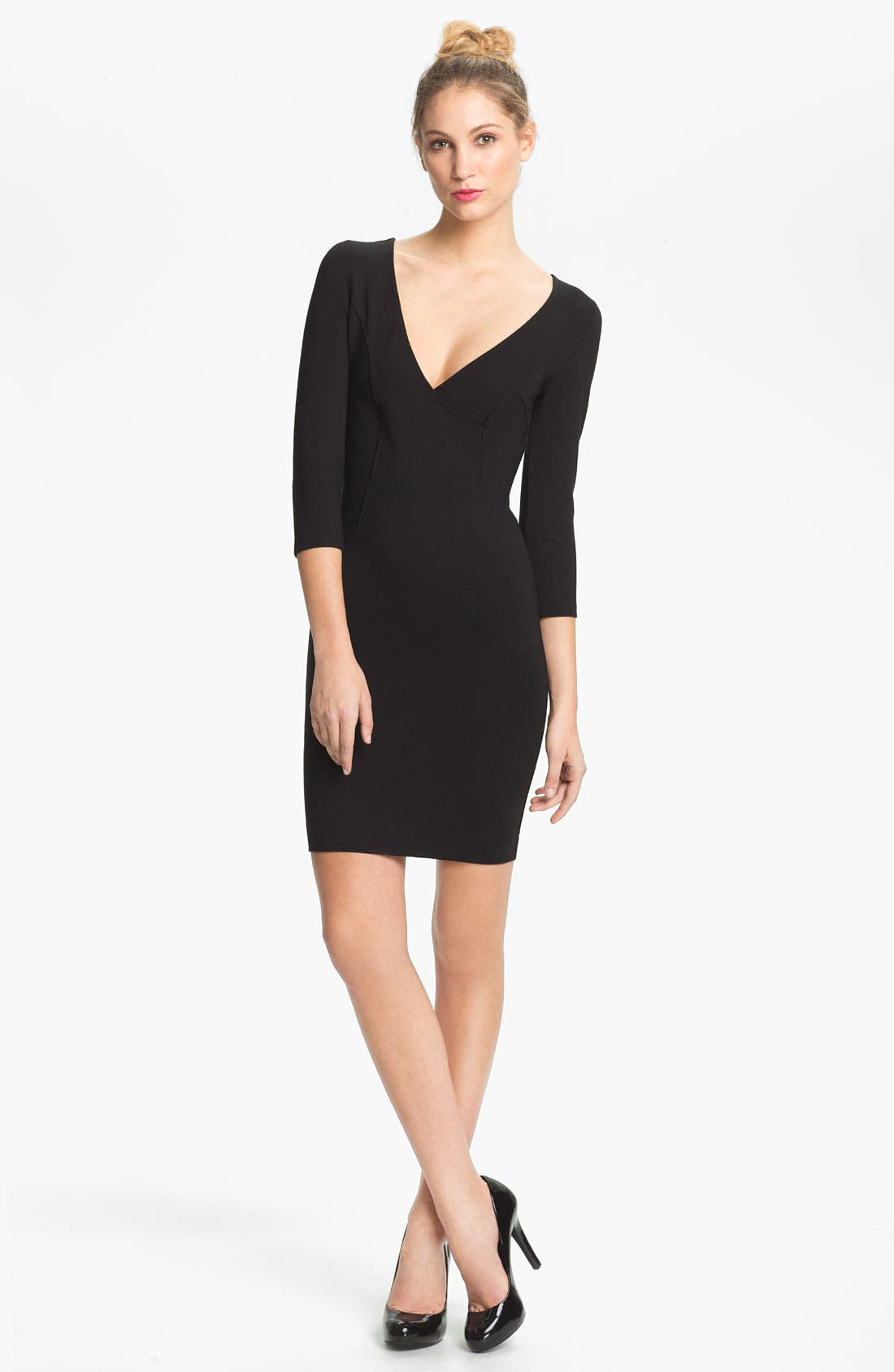 Main Image - French Connection 'Classic Milla' V-Neck Sheath Dress