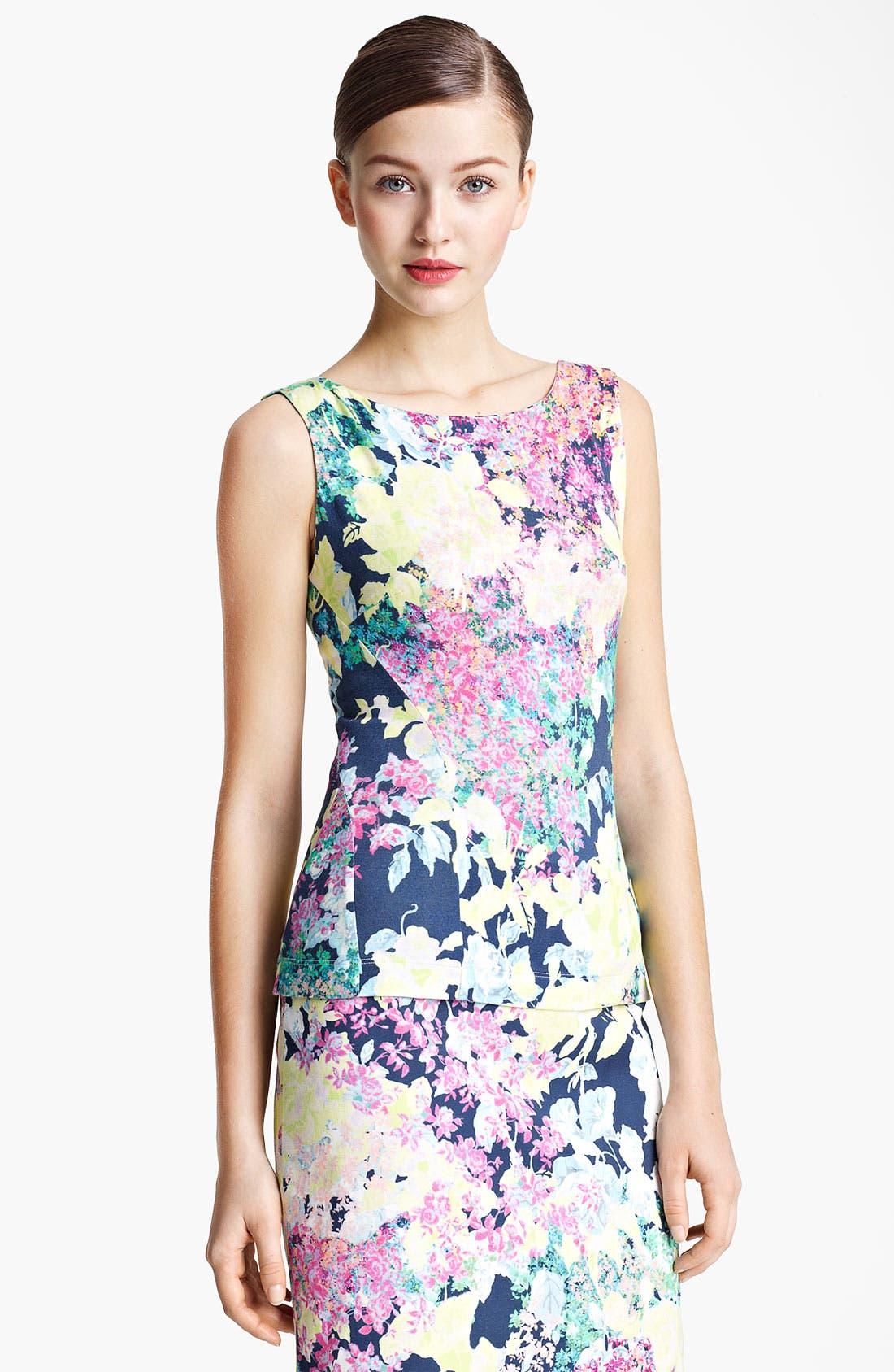 Alternate Image 1 Selected - Erdem Top & Skirt