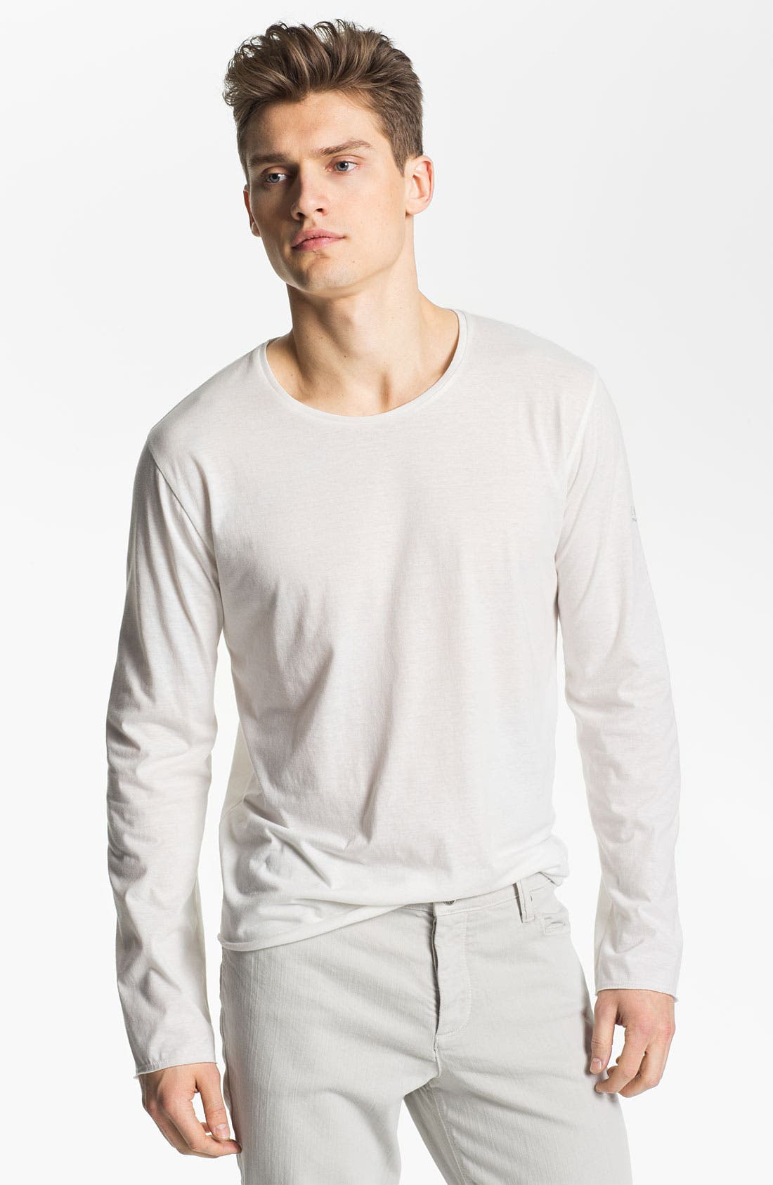Main Image - Zadig & Voltaire Crewneck Long Sleeve Shirt