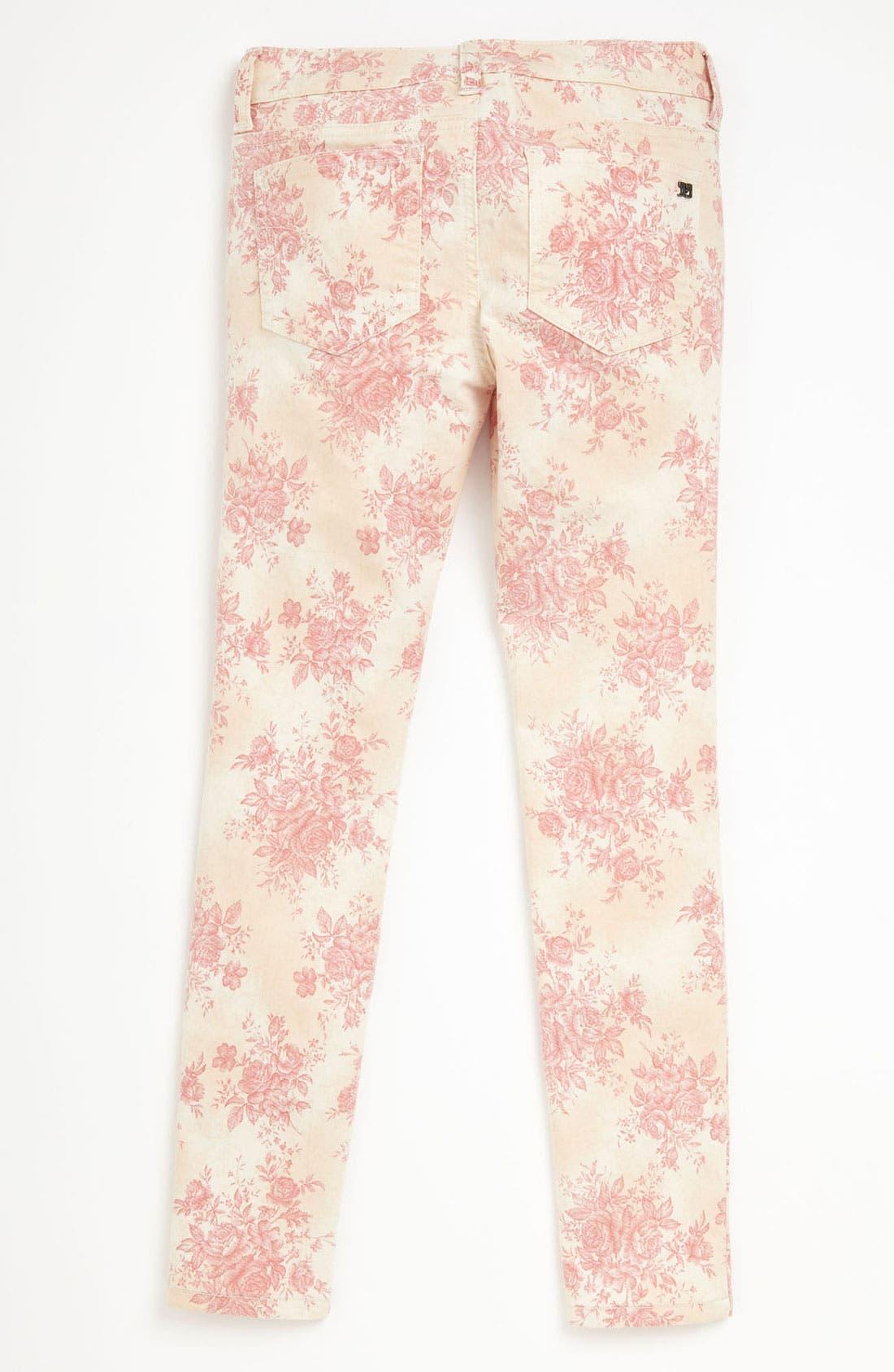 Alternate Image 1 Selected - Joe's Printed Skinny Denim Jeans (Toddler)