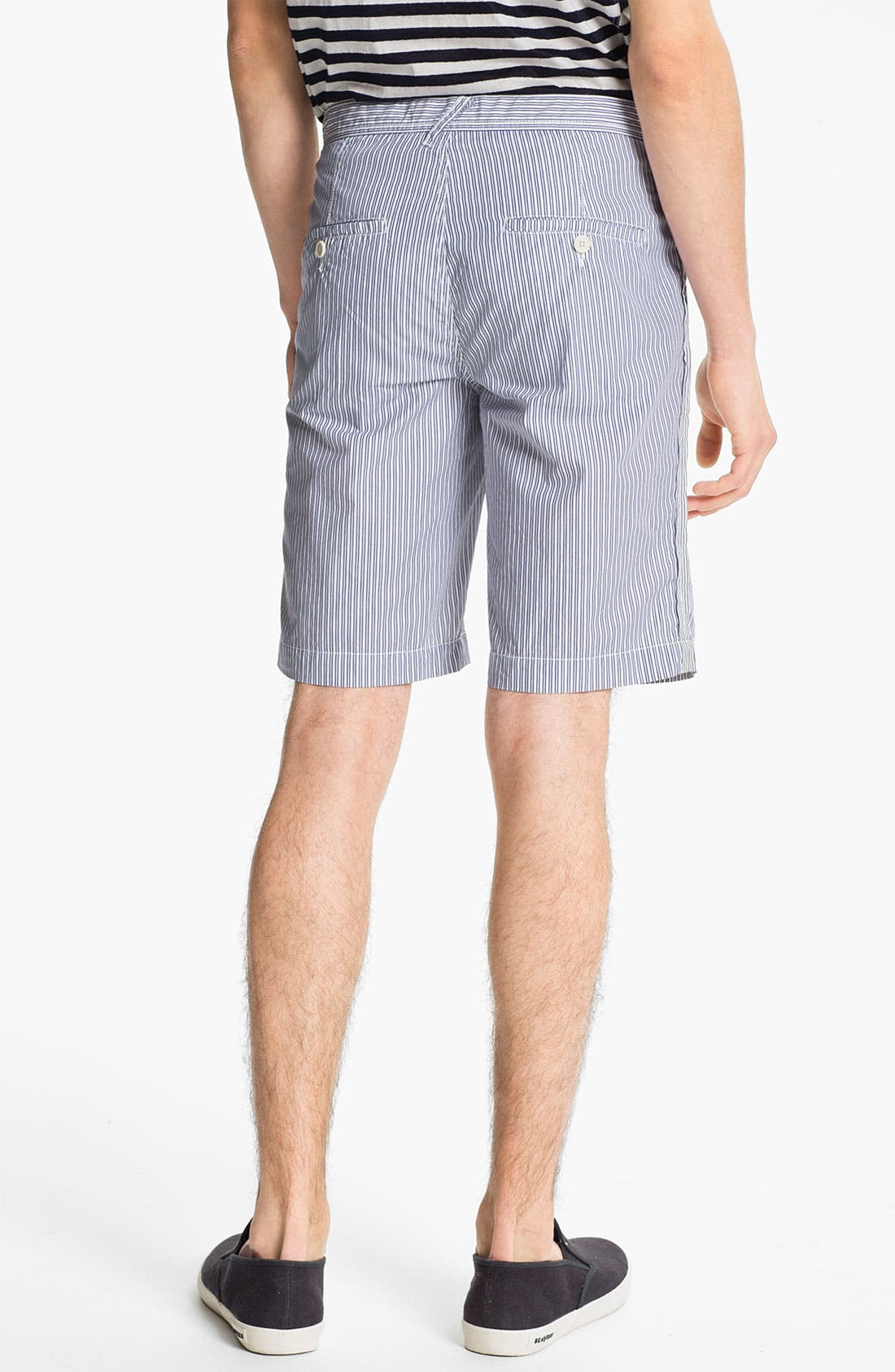 Alternate Image 4  - U Clothing 'Finn Classic' Stripe Shorts