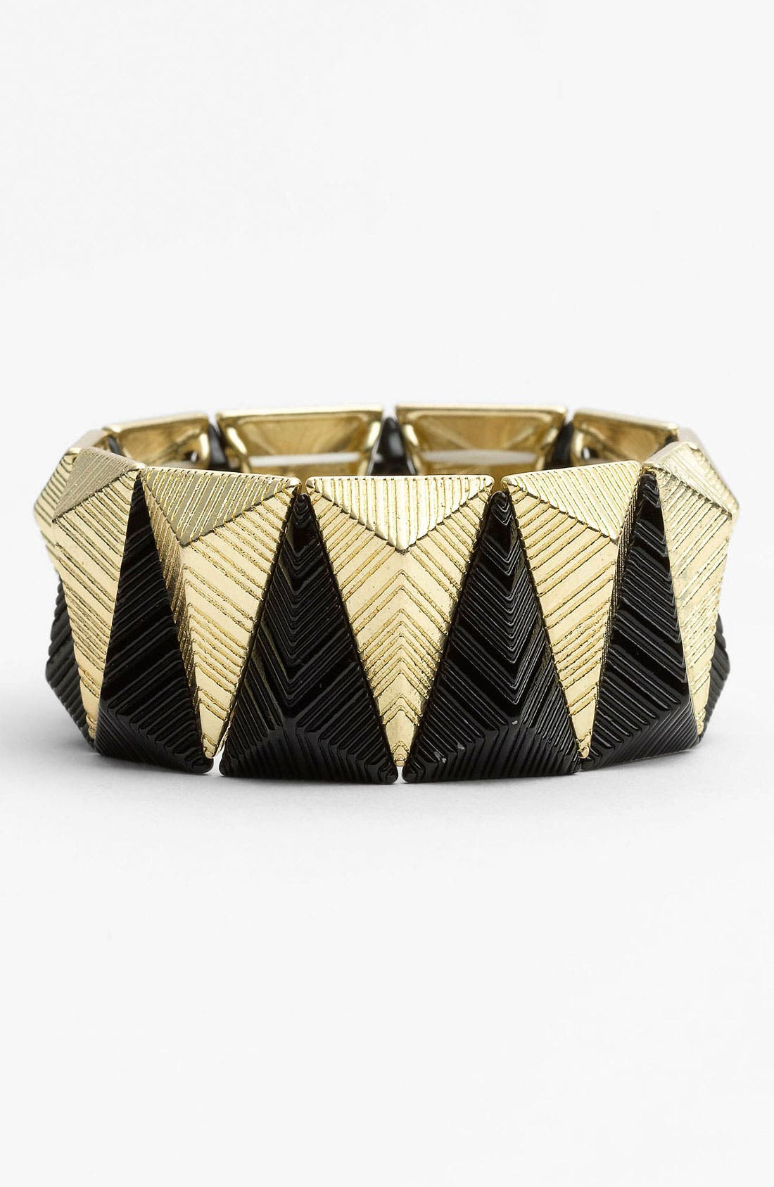 Alternate Image 1 Selected - Carole Two Tone Pyramid Bracelet