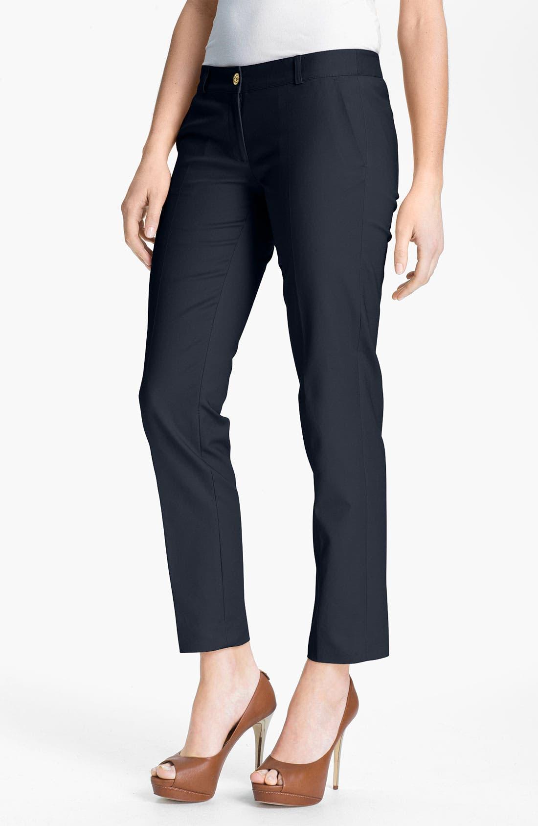 Main Image - MICHAEL Michael Kors Skinny Ankle Pants (Regular & Petite)