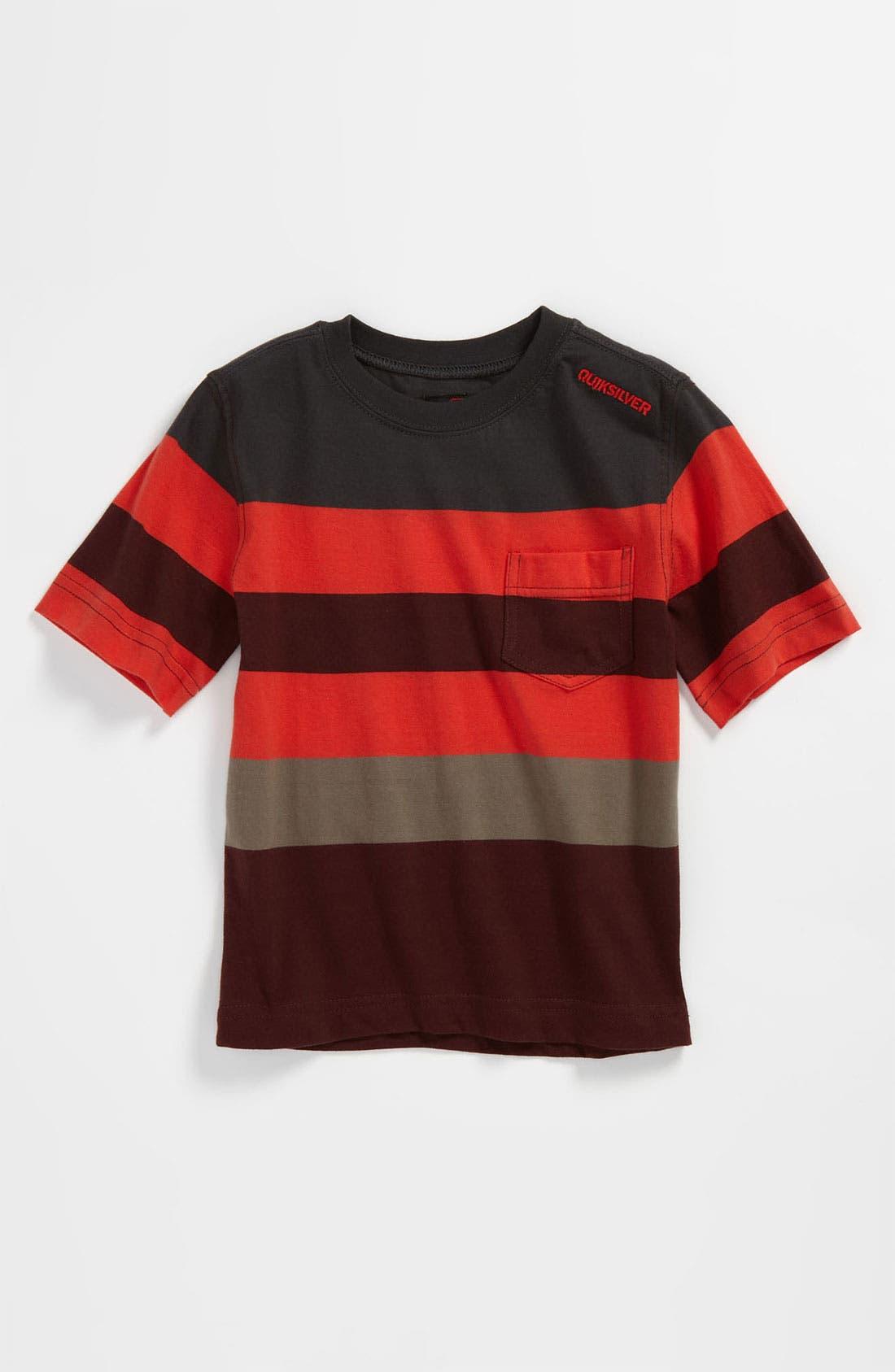 Main Image - Quiksilver 'Mobley' Stripe T-Shirt (Infant)