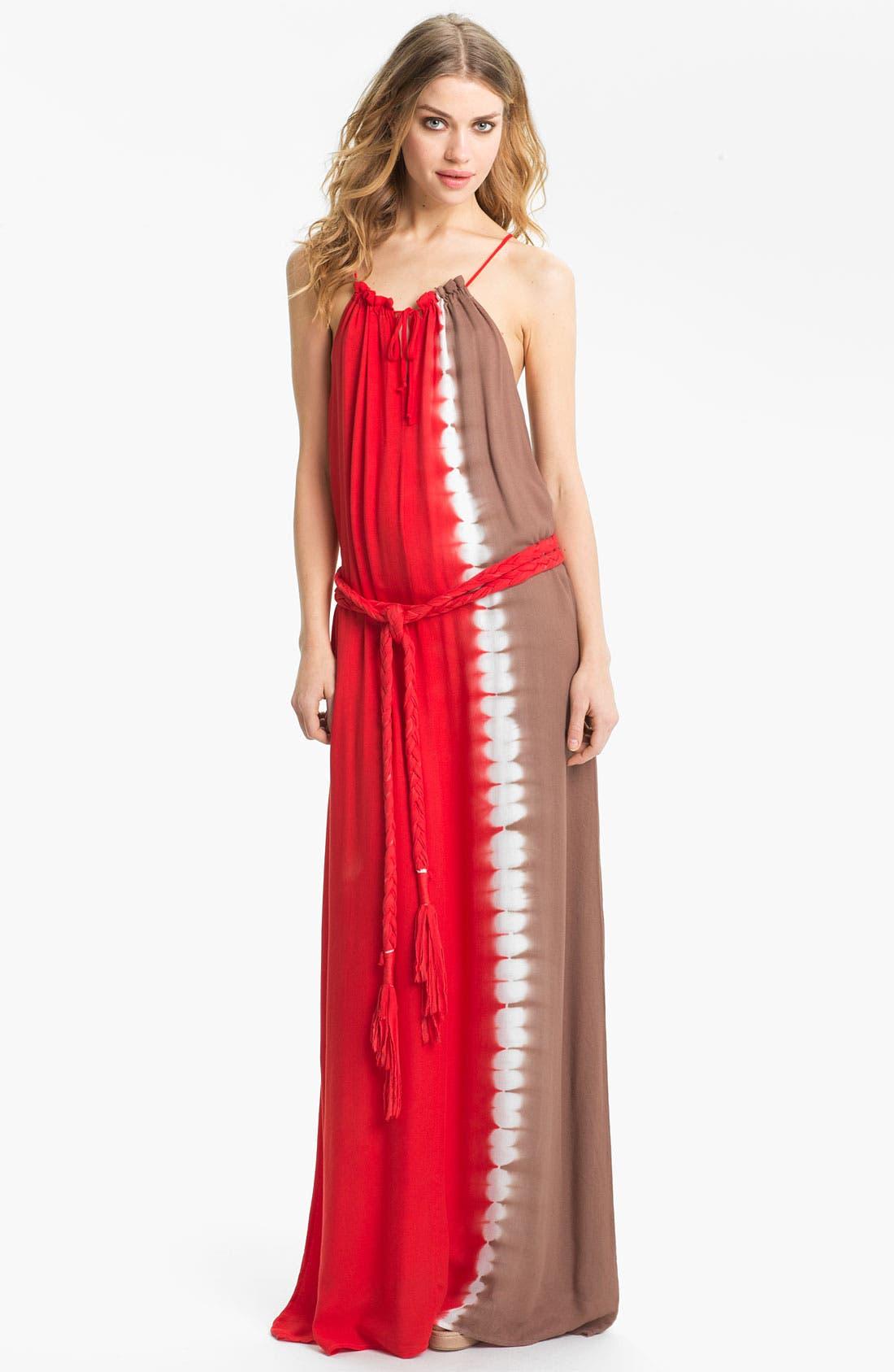 Main Image - Young, Fabulous & Broke 'Willow' Tie Dye Maxi Dress