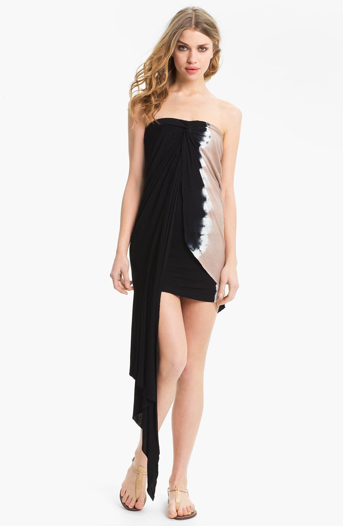 Main Image - Young, Fabulous & Broke 'Kai' Strapless Cascade Dress