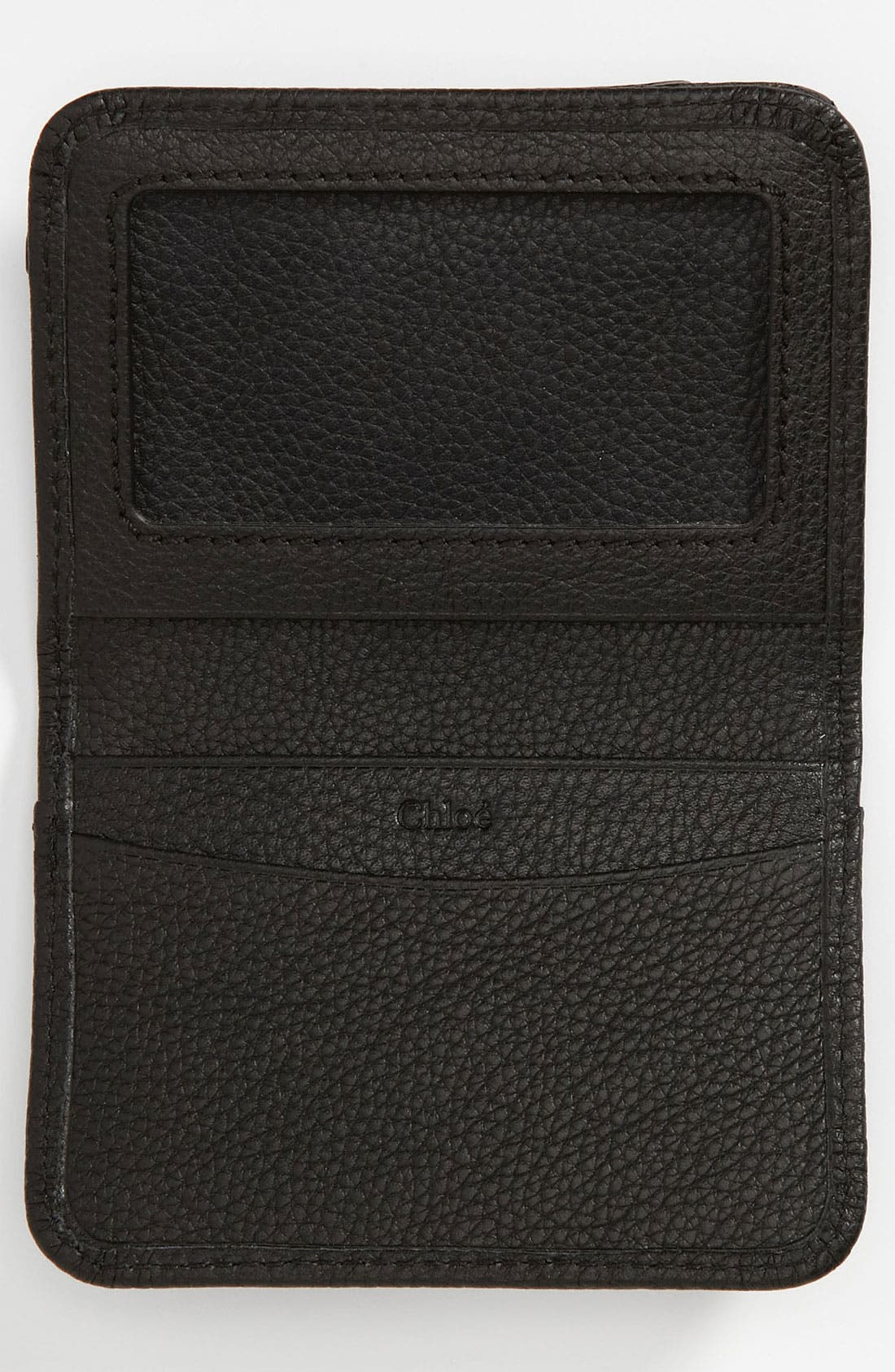 Alternate Image 3  - Chloé 'Paraty' Leather Card Holder