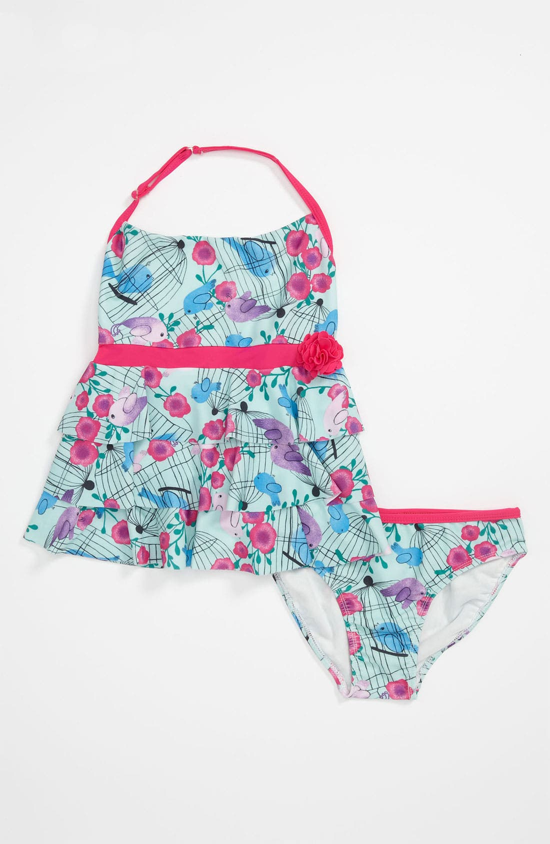 Alternate Image 1 Selected - Ray Ray Two Piece Swimsuit (Little Girls)
