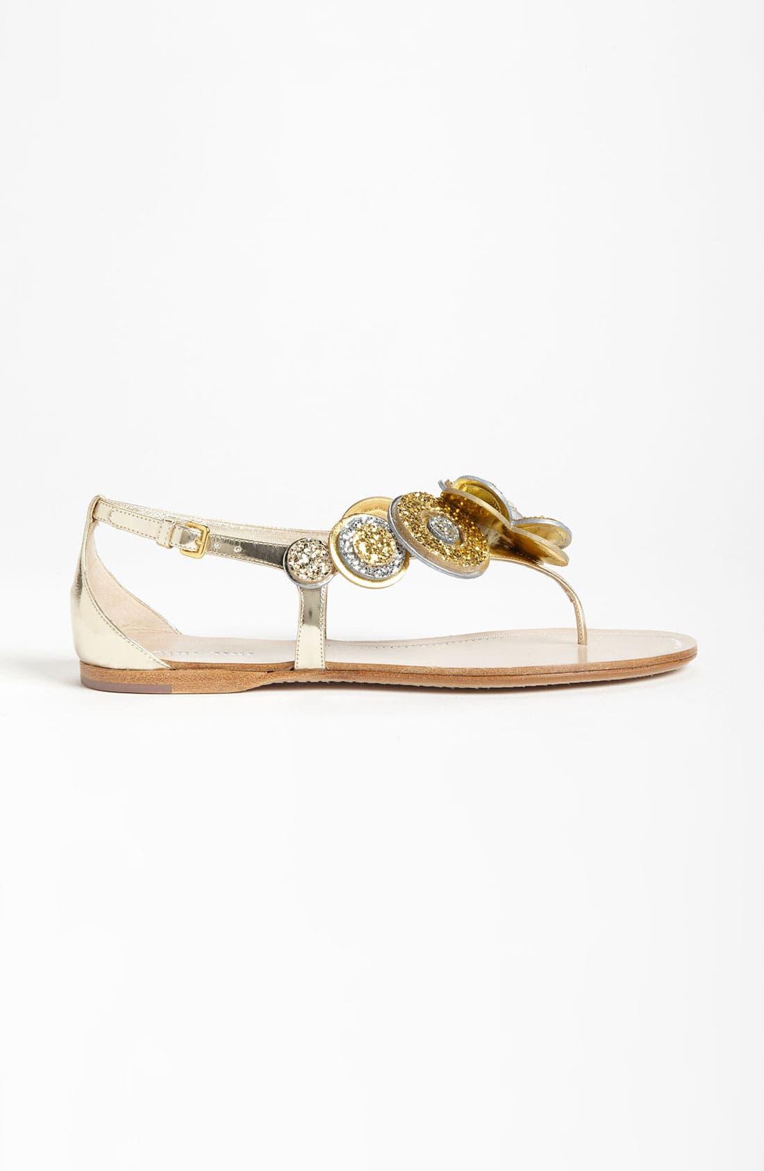 Alternate Image 4  - Miu Miu Flower Thong Sandal