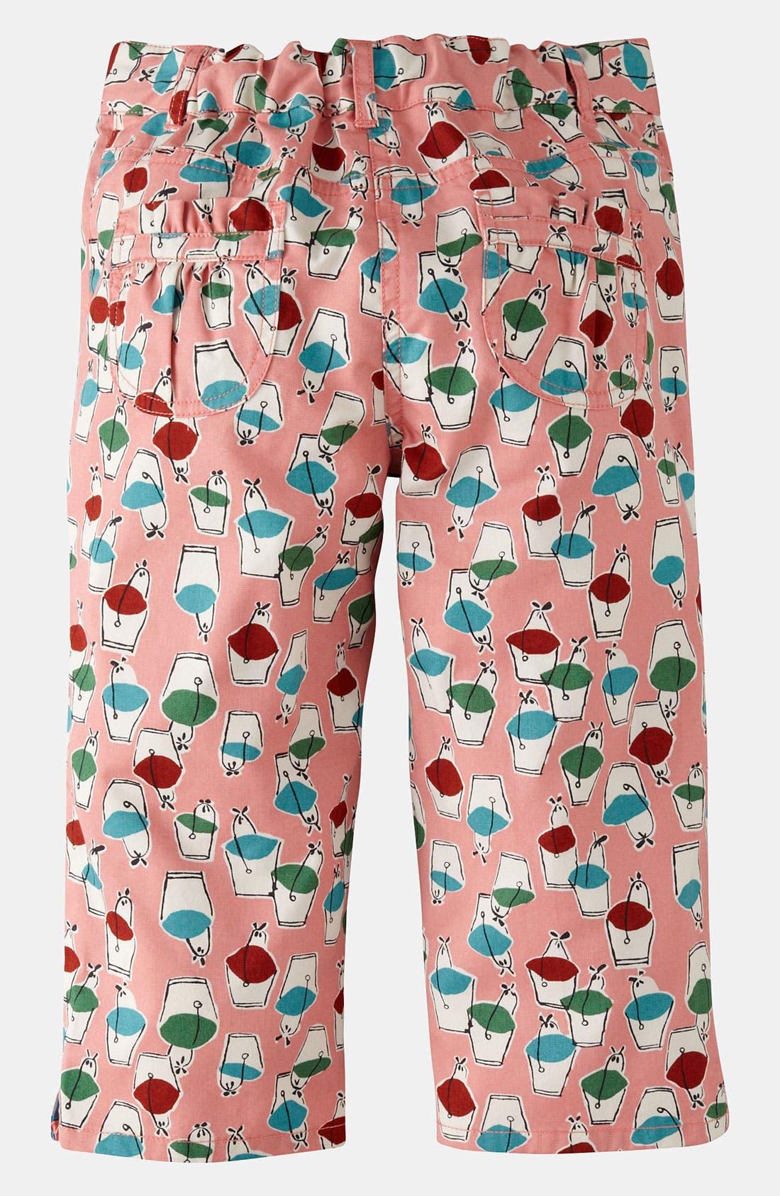 Alternate Image 2  - Mini Boden Print Capri Pants (Little Girls & Big Girls)