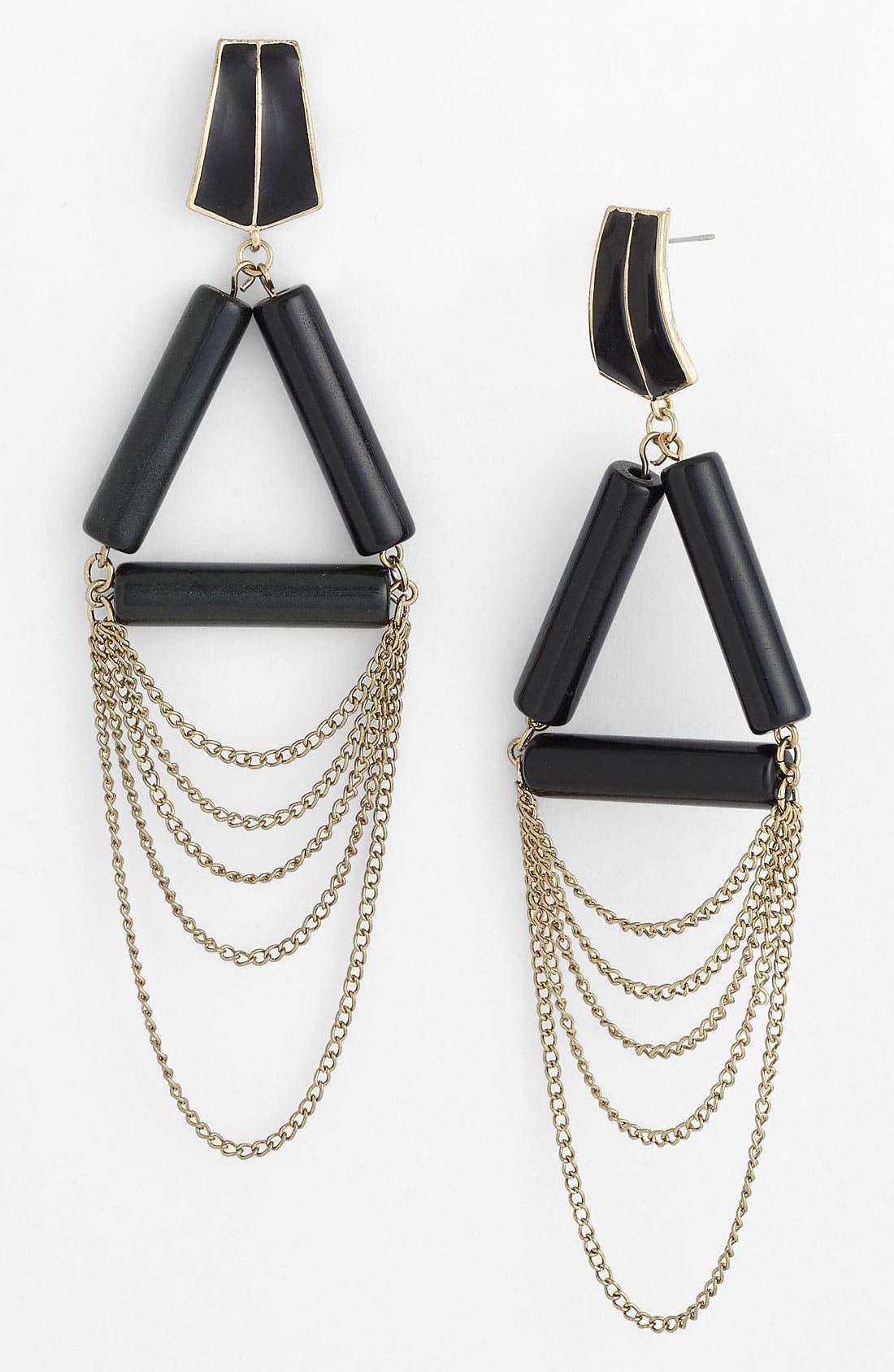 Alternate Image 1 Selected - Panacea Chain Earrings