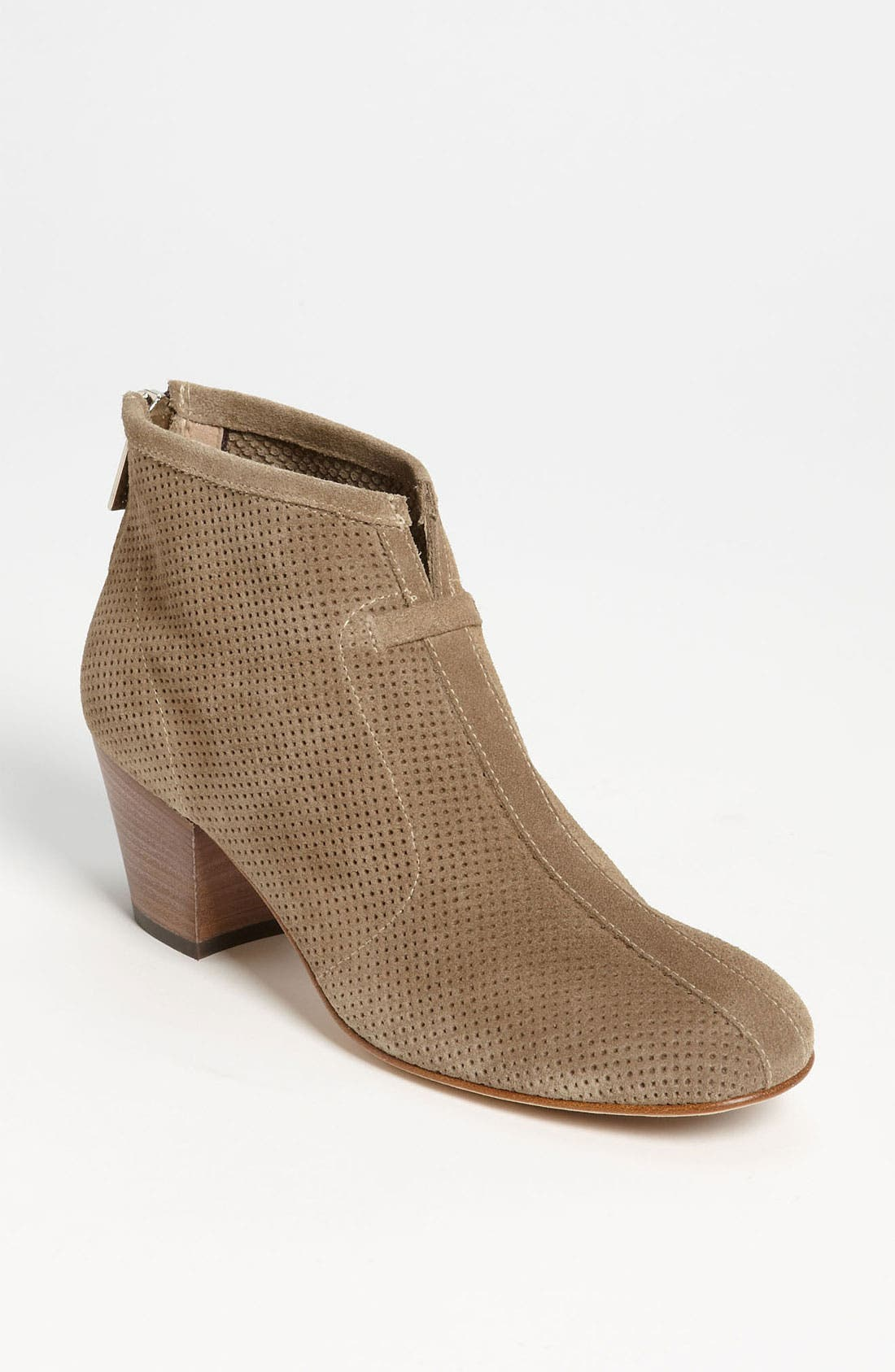 Alternate Image 1 Selected - Aquatalia by Marvin K. 'Xcellent' Perforated Suede Bootie (Women)