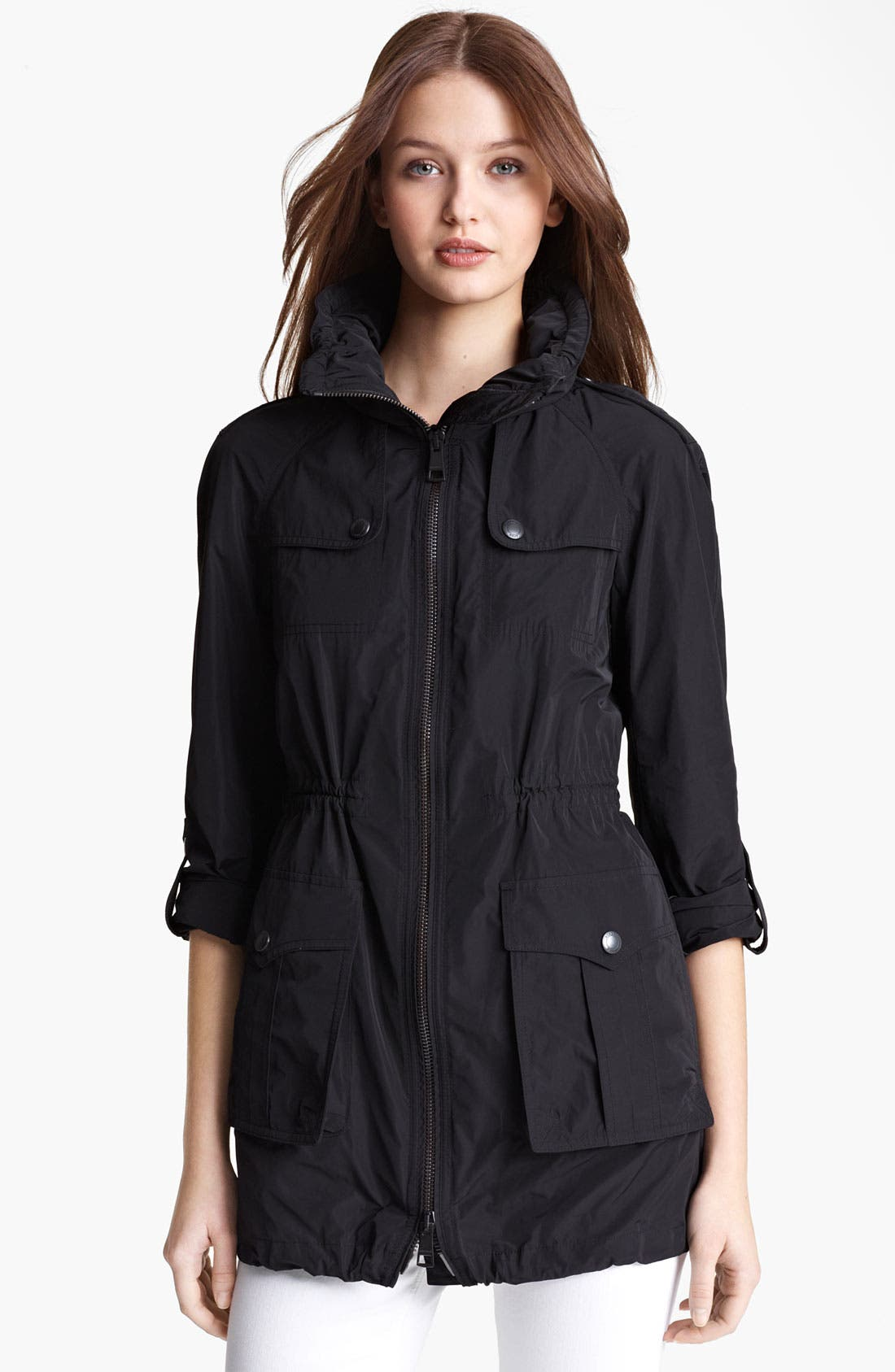 Main Image - Burberry Brit 'Badgeford' Rain Coat