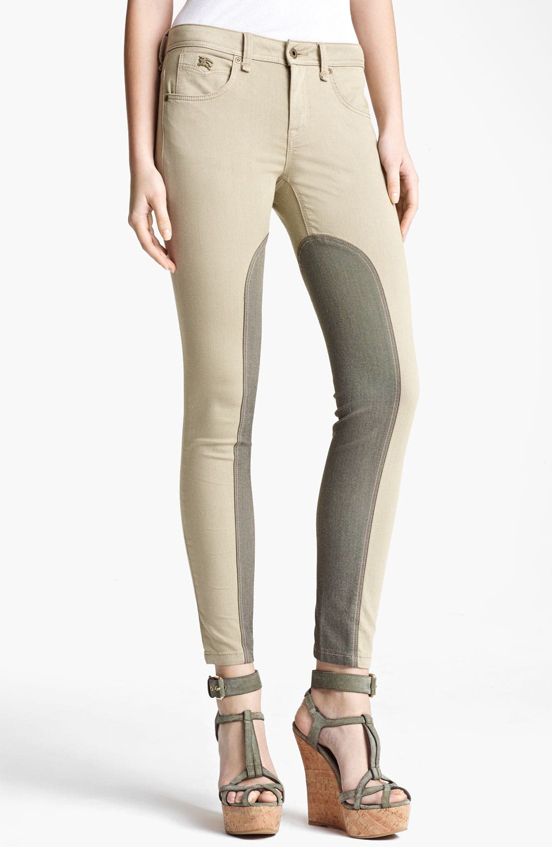 Alternate Image 1 Selected - Burberry Brit 'Pilton' Skinny Leg Jeans