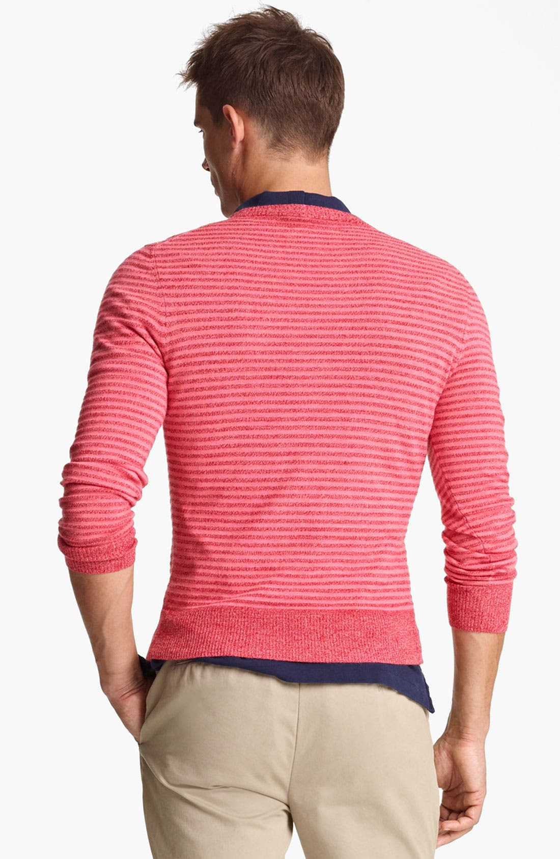 Alternate Image 2  - Jack Spade 'Judson' Stripe Merino Wool Crewneck Sweater