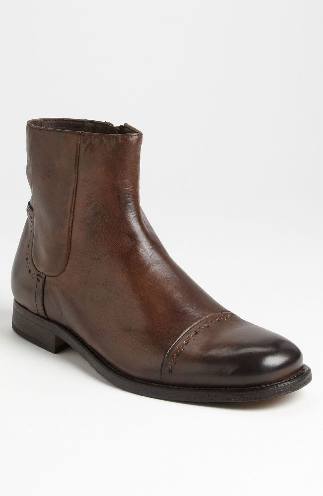 Alternate Image 1 Selected - Bacco Bucci 'Dafne' Cap Toe Boot (Men)