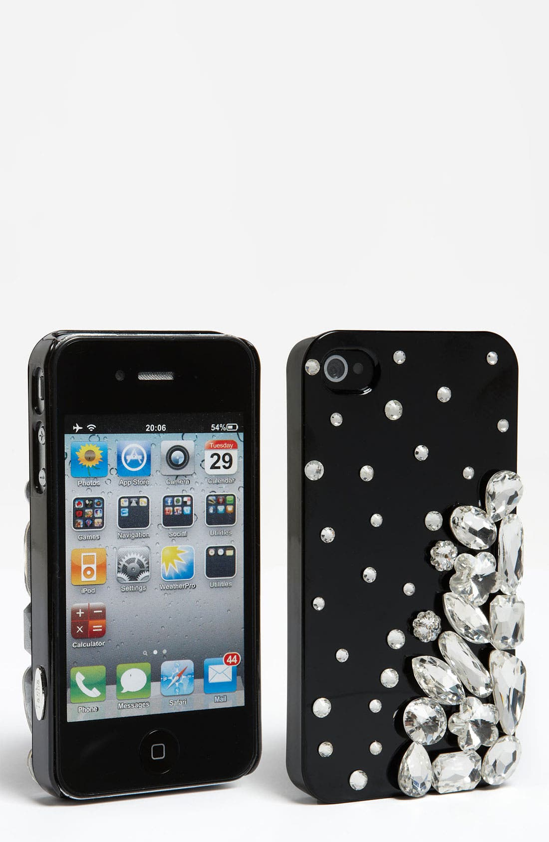 Alternate Image 1 Selected - Natasha Couture Crystal iPhone 4 & 4S Case