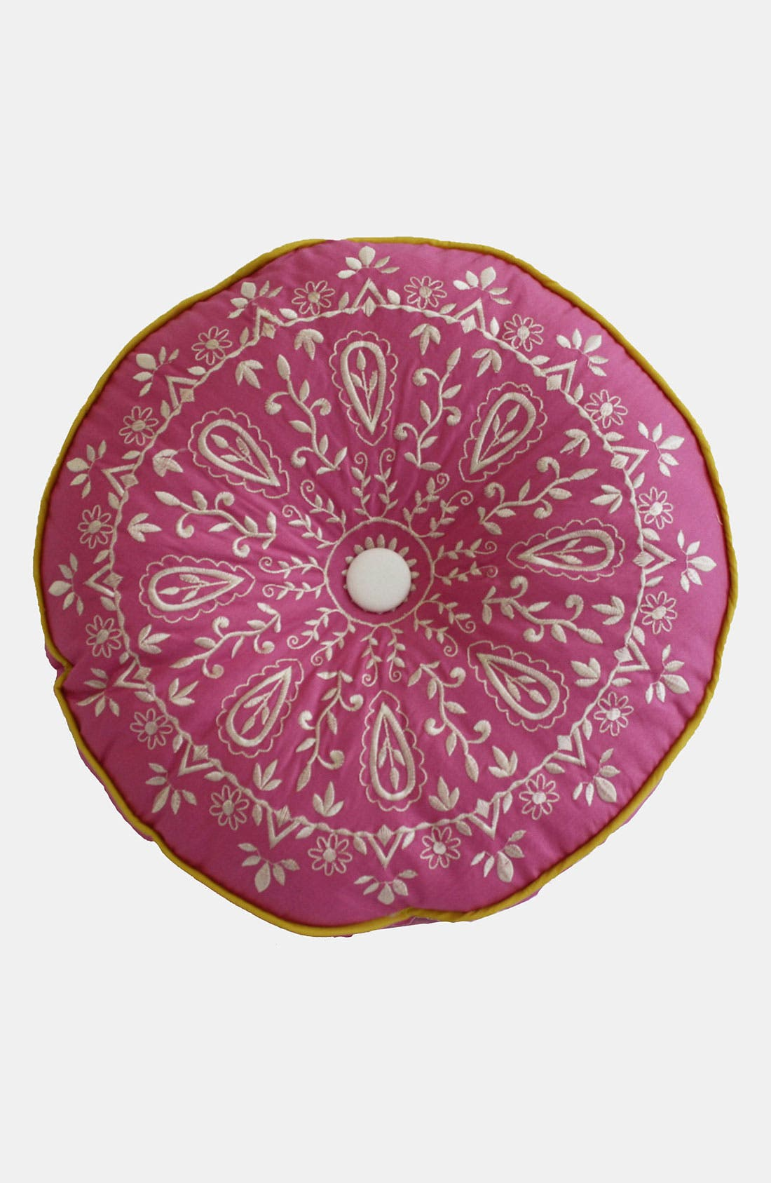 Alternate Image 1 Selected - Dena Home 'Zarina' Round Pillow