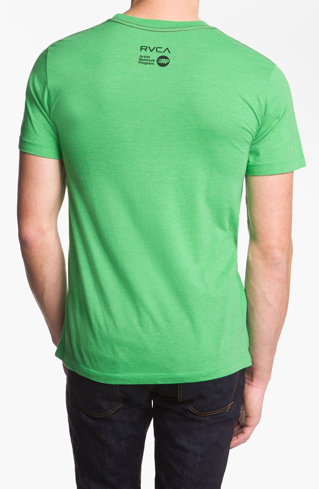 Alternate Image 2  - RVCA 'Masterpiece' T-Shirt