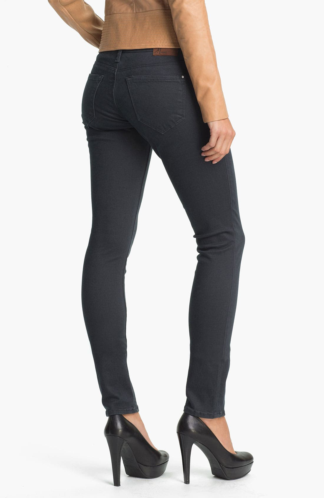 Alternate Image 2  - Mavi Jeans 'Serena' Low Rise Skinny  Jeans (Sueded Granite) (Online Exclusive)