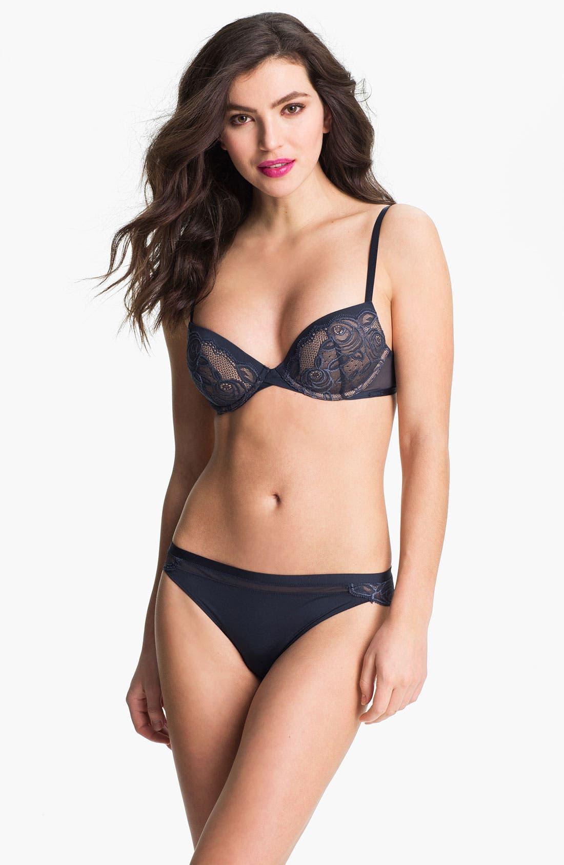Alternate Image 4  - Calvin Klein 'Honeysuckle Rose' Bikini