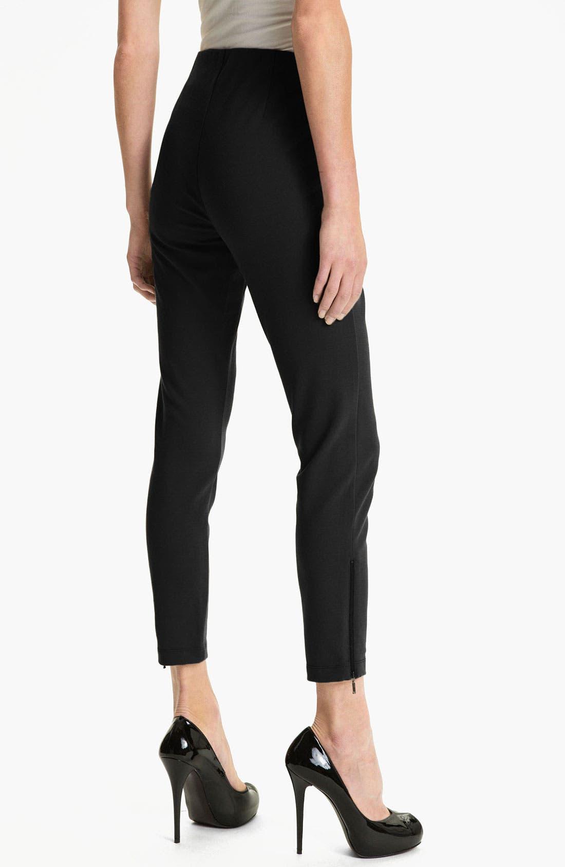Alternate Image 2  - Eileen Fisher Slim Crop Pants