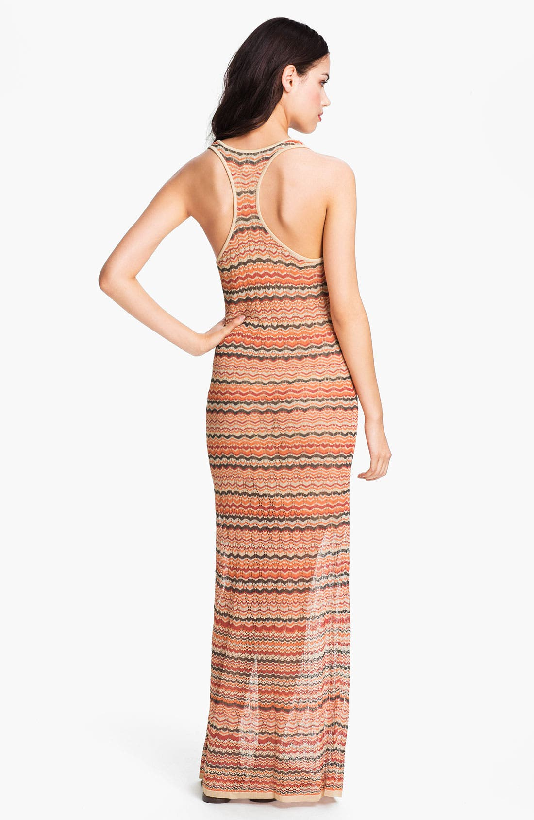 Alternate Image 2  - Haute Hippie Flame Knit Racerback Maxi Dress