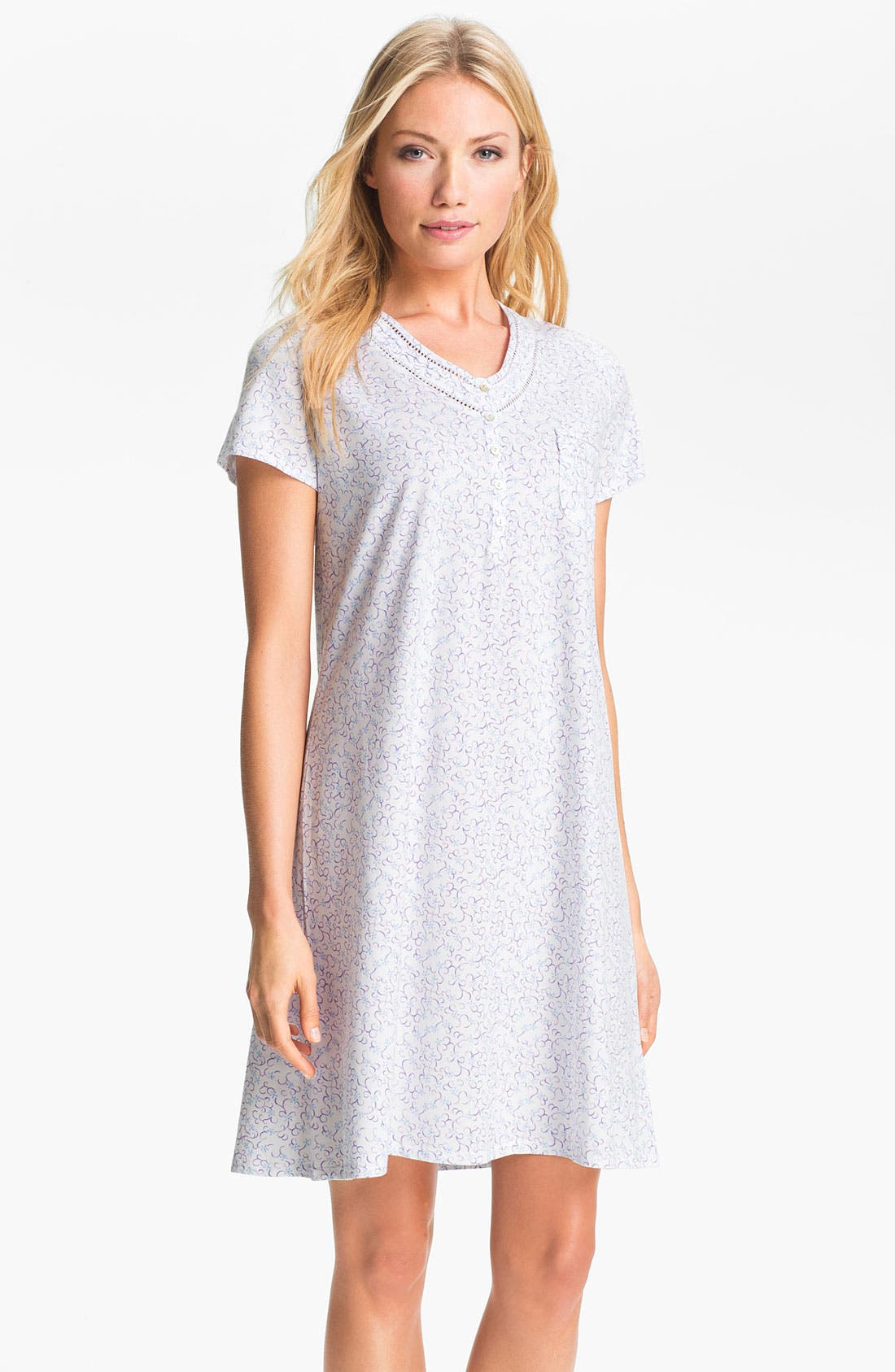 Alternate Image 1 Selected - Eileen West 'Country Picnic' Sleep Shirt