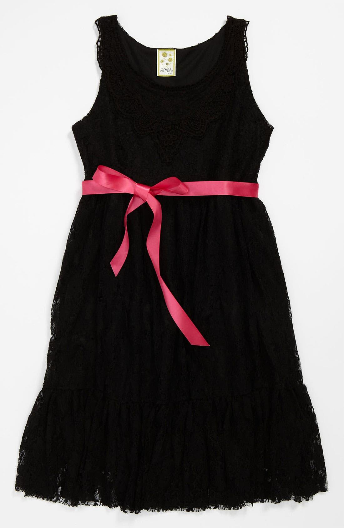 Main Image - Kiddo Lace Dress (Little Girls & Big Girls)