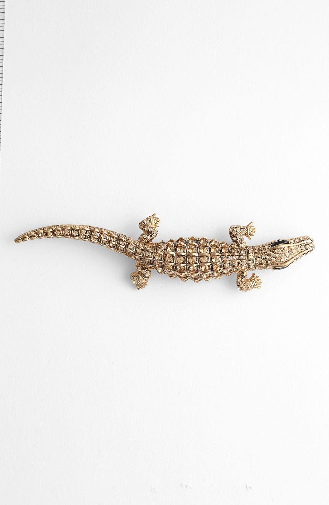 Alternate Image 1 Selected - Tasha 'Critters' Alligator Brooch