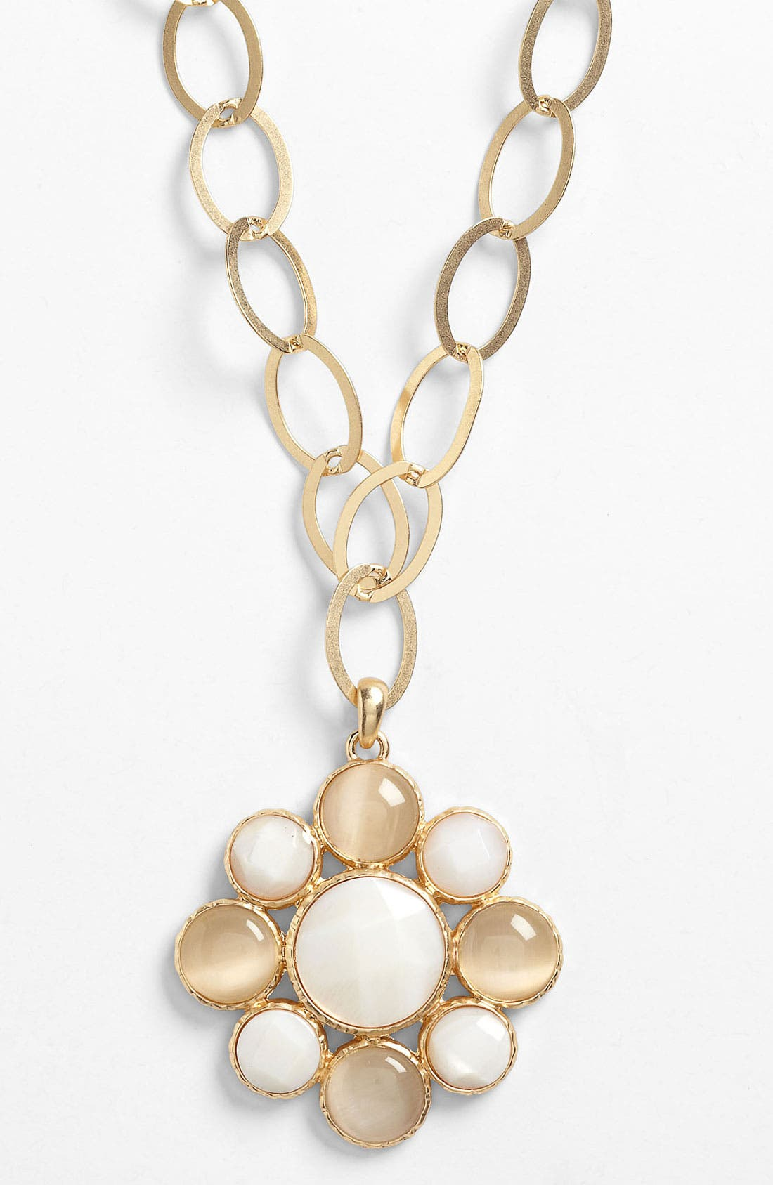 Alternate Image 1 Selected - Nordstrom 'Santorini' Long Pendant Necklace