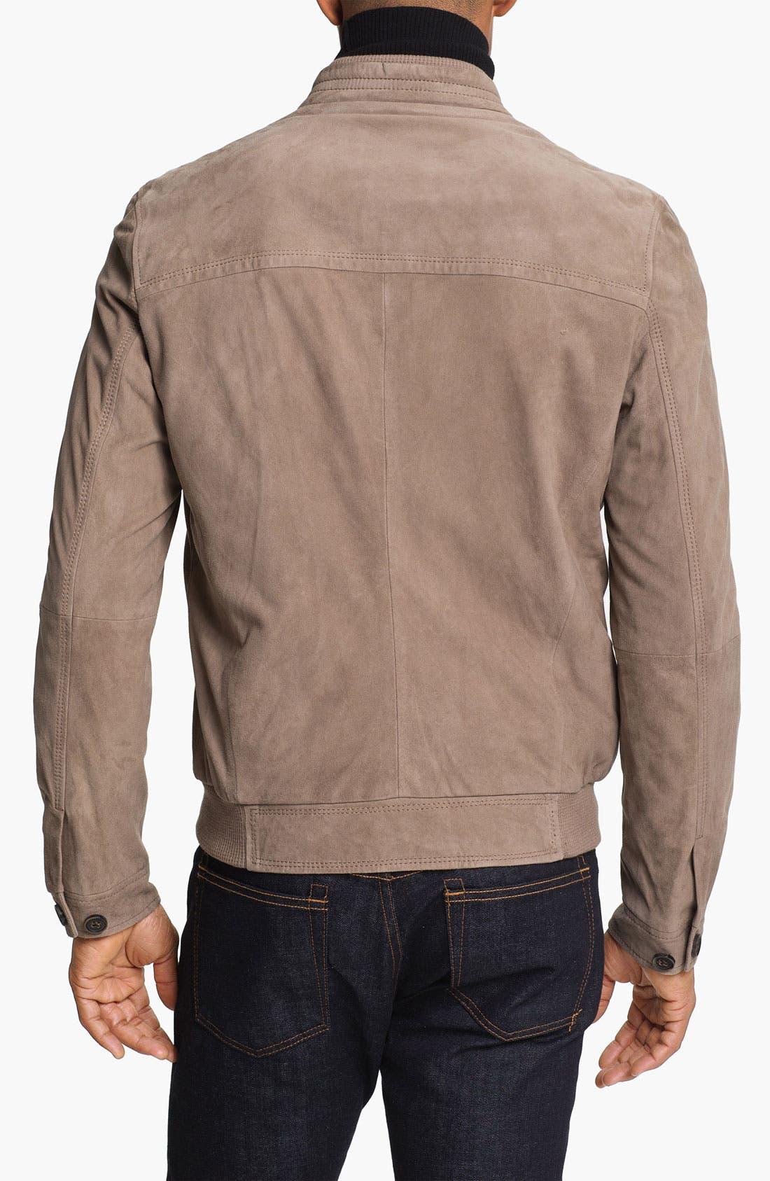 Alternate Image 2  - BOSS Black 'Neodor' Suede Jacket