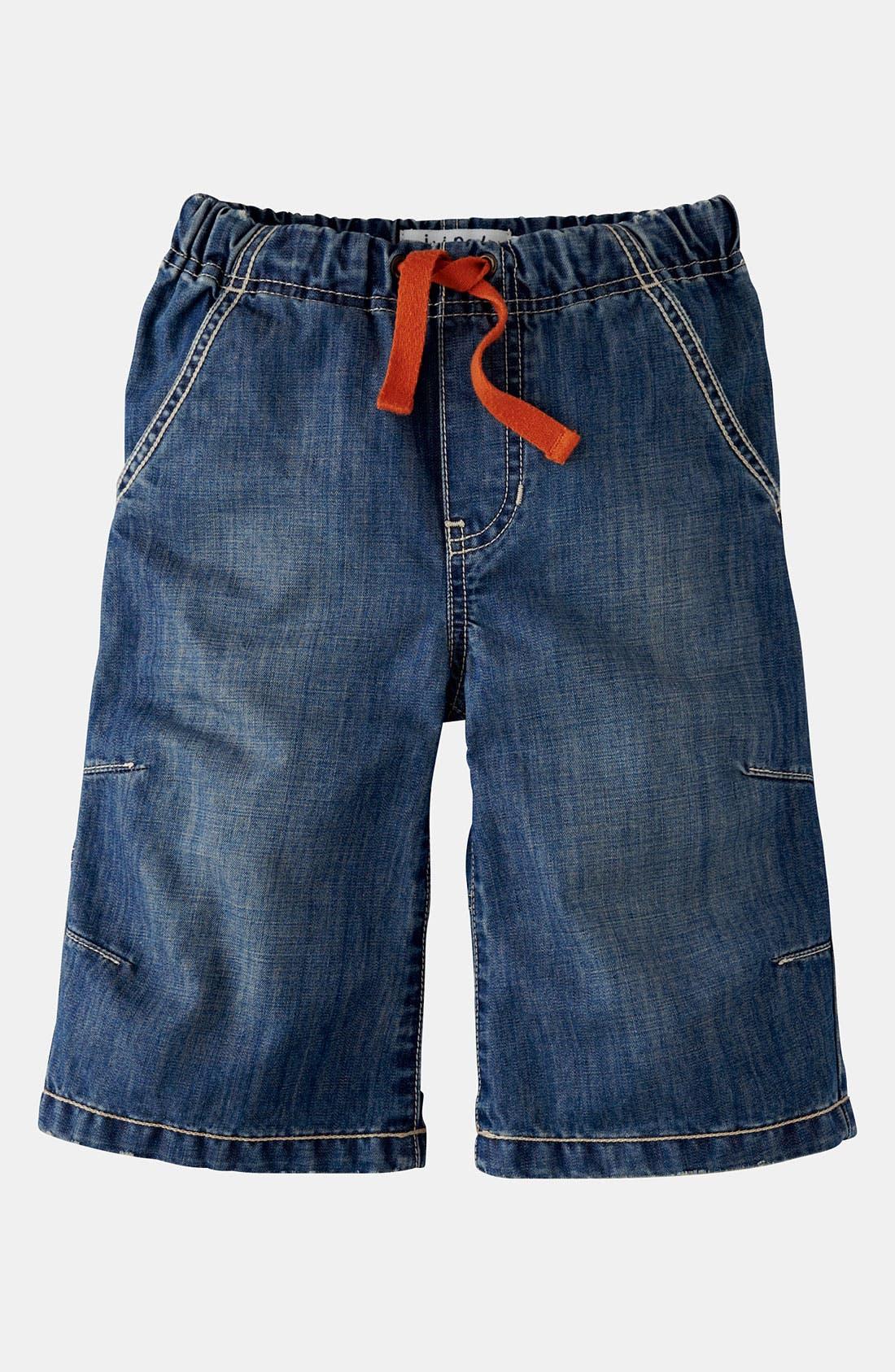 Alternate Image 1 Selected - Mini Boden Board Shorts (Little Boys & Big Boys)
