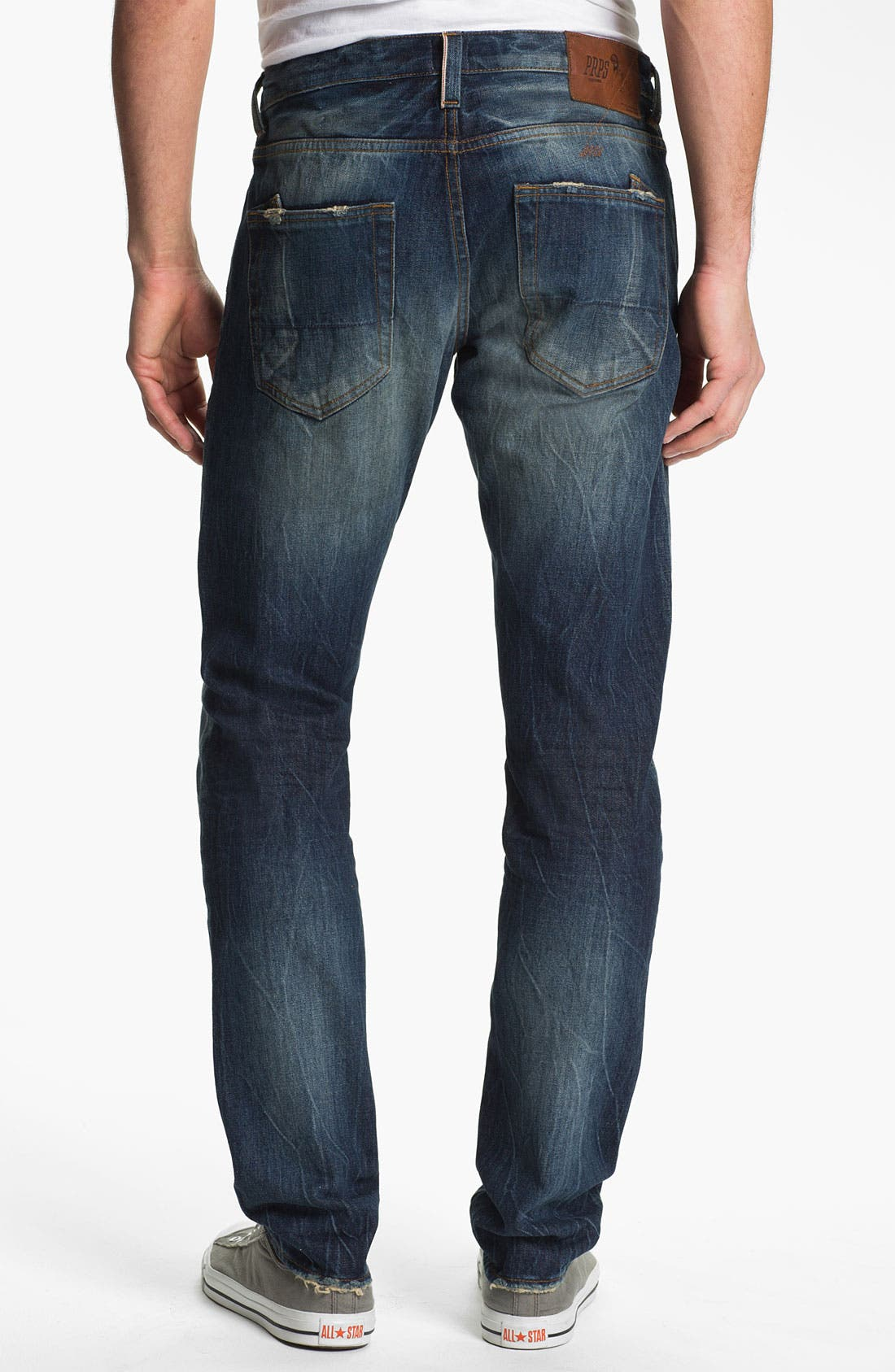 Alternate Image 2  - PRPS Barracuda Straight Leg Selvedge Jeans (1 Year)