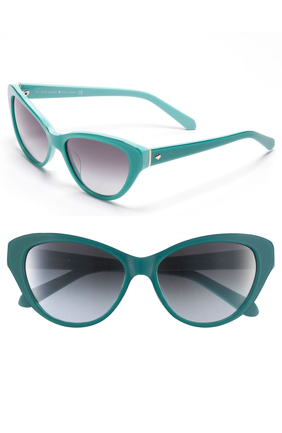 Alternate Image 1 Selected - kate spade new york 'della' 55mm sunglasses