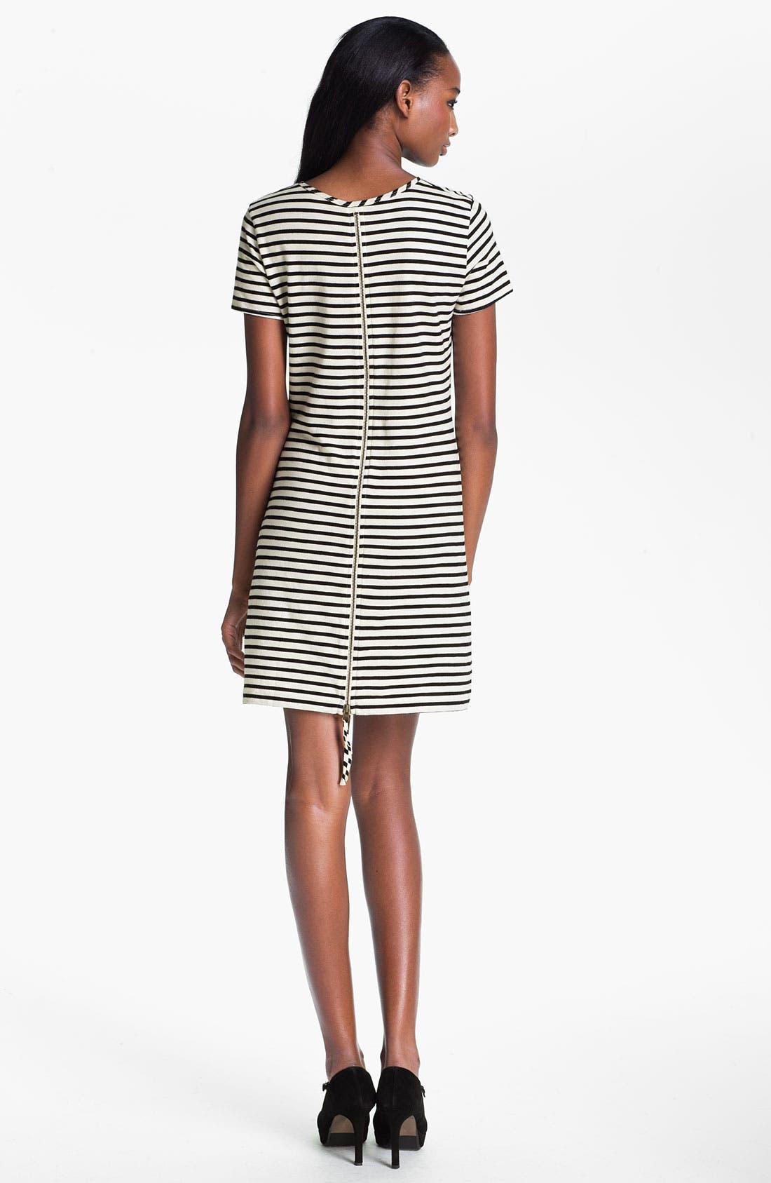 Alternate Image 2  - Skaist-Taylor Stripe Cotton T-Shirt Dress