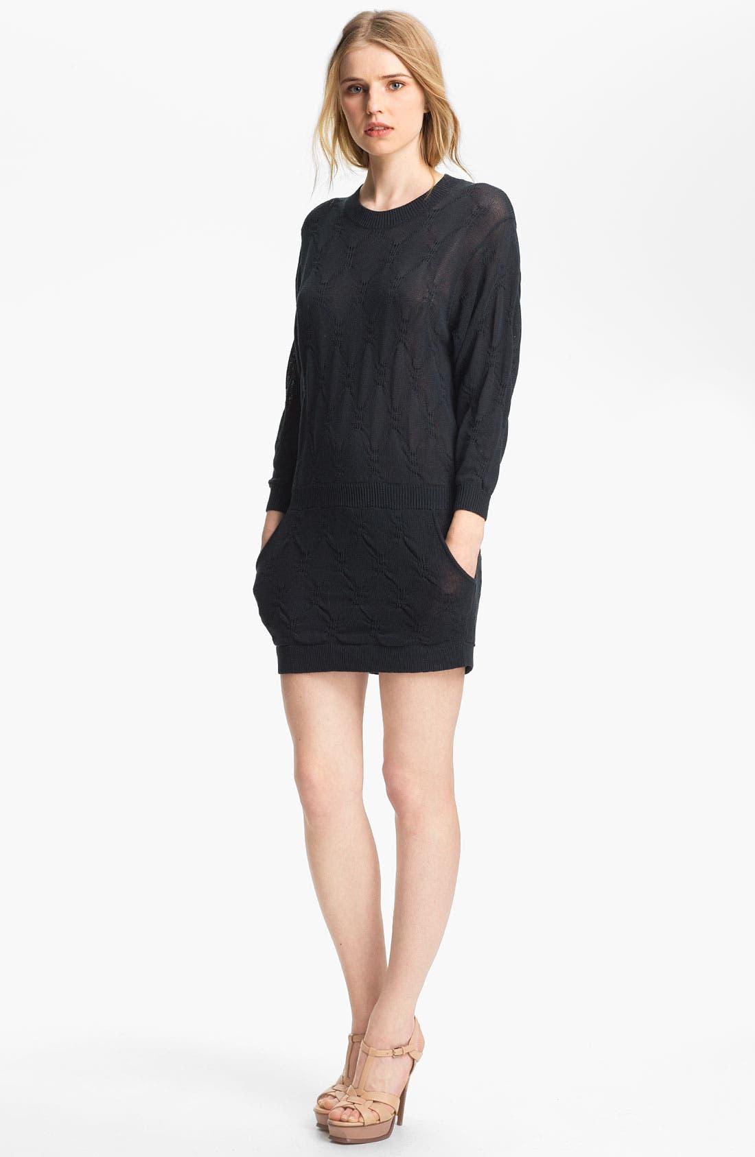 Main Image - Theyskens' Theory 'Kumila Ymalfi' Silk Knit Dress