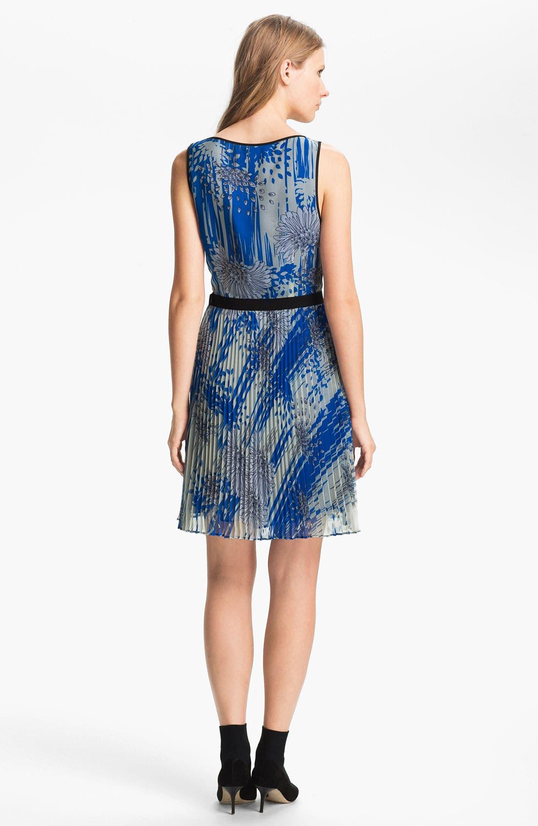 Alternate Image 2  - Miss Wu Print Chiffon Dress (Nordstrom Exclusive)